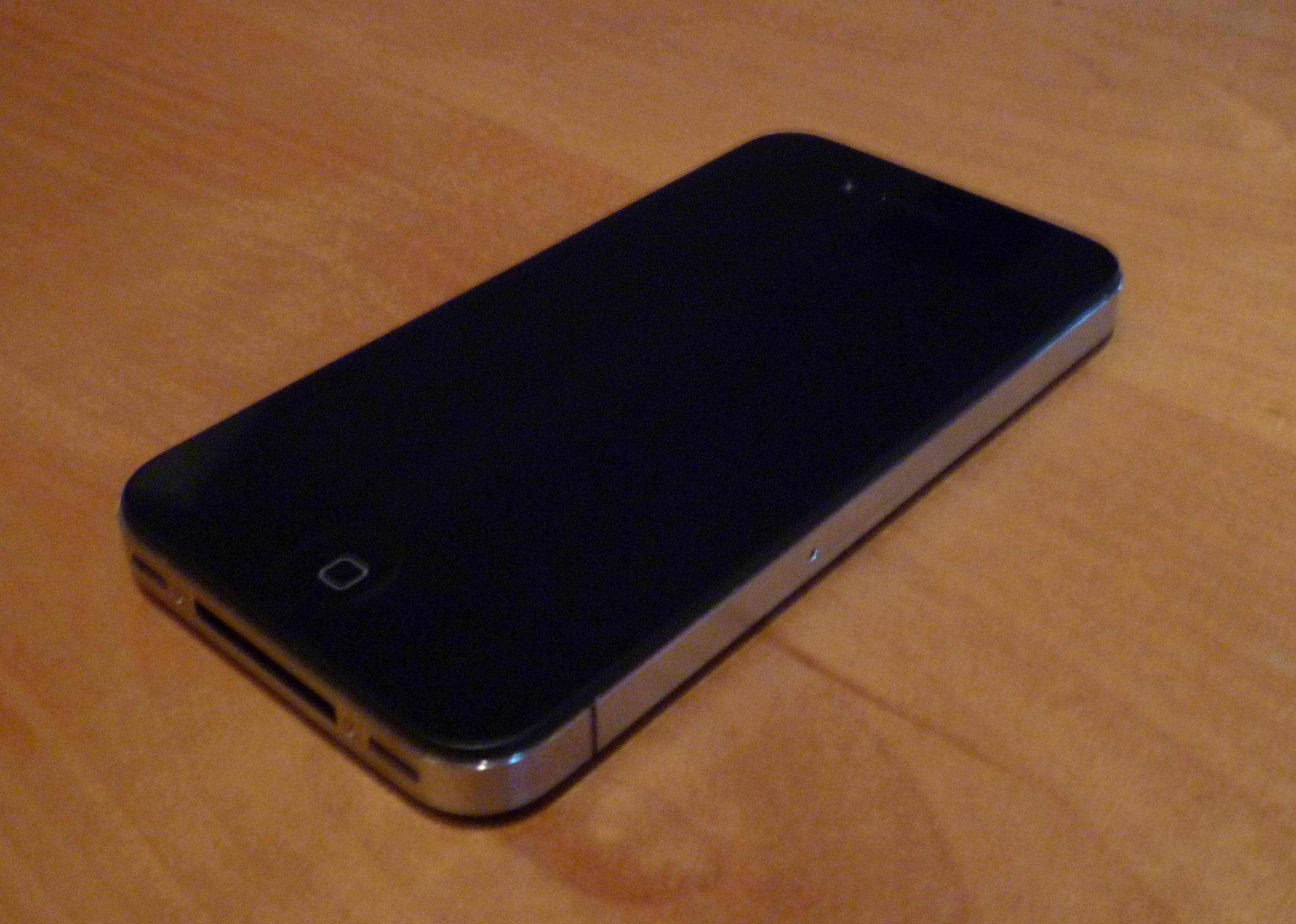 Black iPhone 4 16gb model. In great working condition | nukleus ...