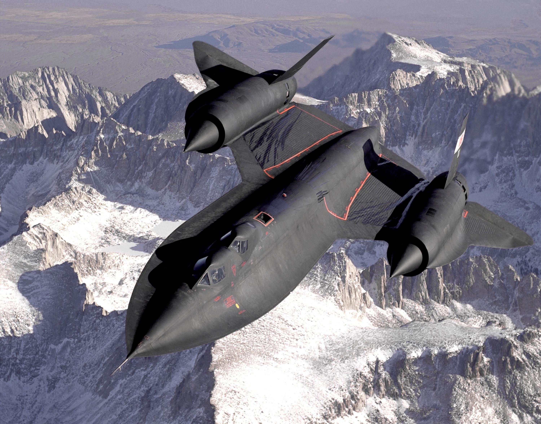 Black jetplane flying on the sky photo