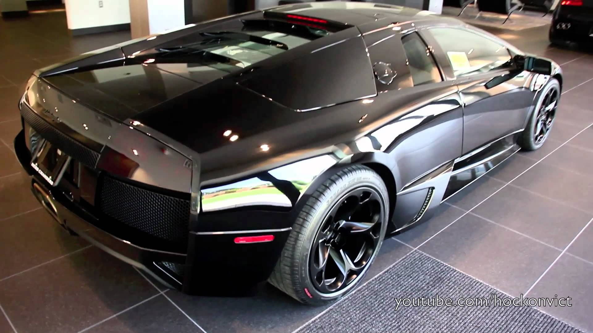 All-Black Lamborghini Murcielago LP640 - YouTube