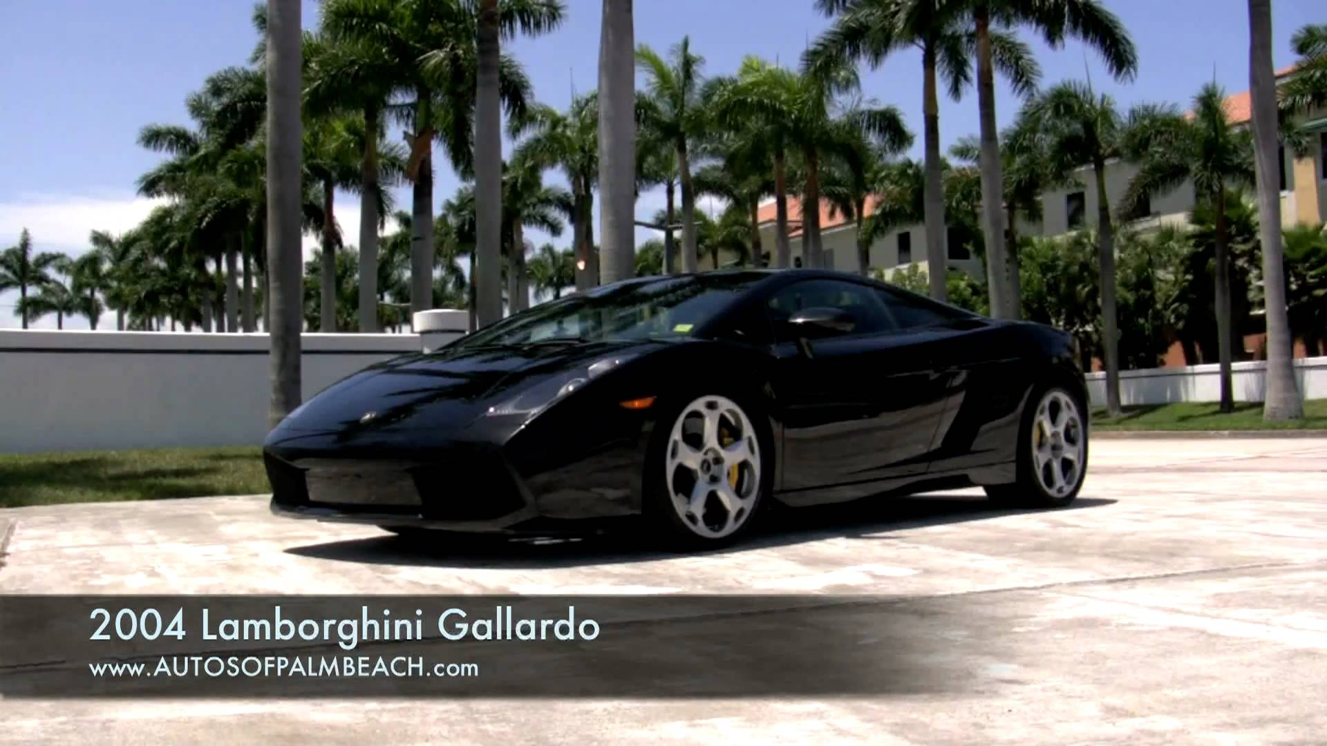 2004 Lamborghini Gallardo Black A2543 - YouTube