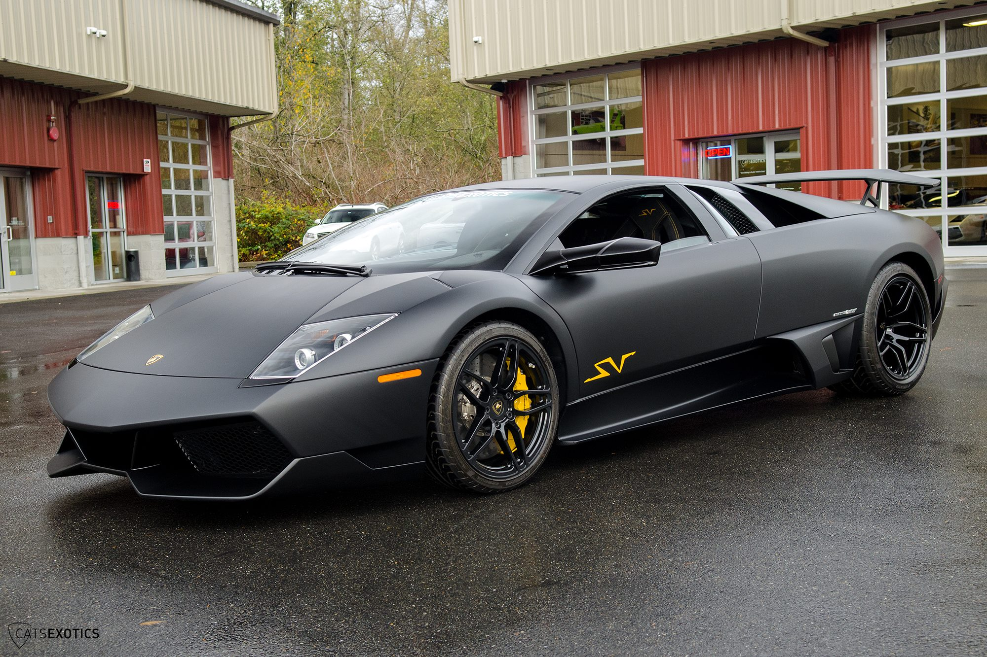 Nero Nemesis Lamborghini Murcielago SV For Sale at $574,888 - GTspirit