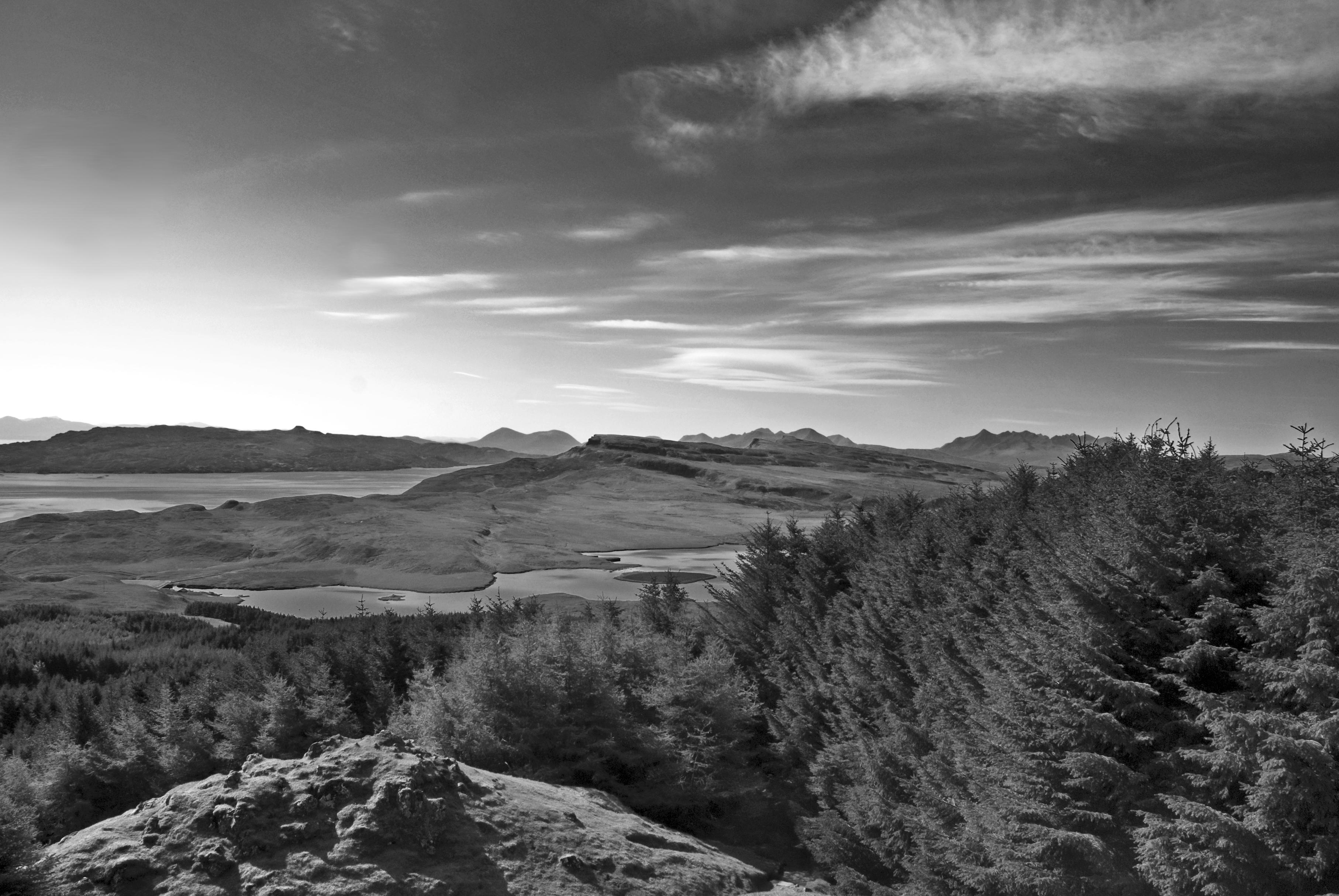 File:Beautiful landscape in black and white, Scotland (5831890202 ...