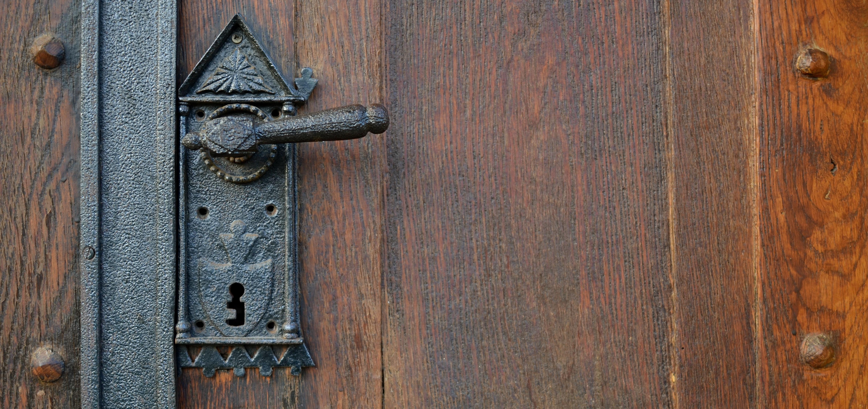 Black Metal Door Lever, Architecture, Door, Iron, Keyhole, HQ Photo