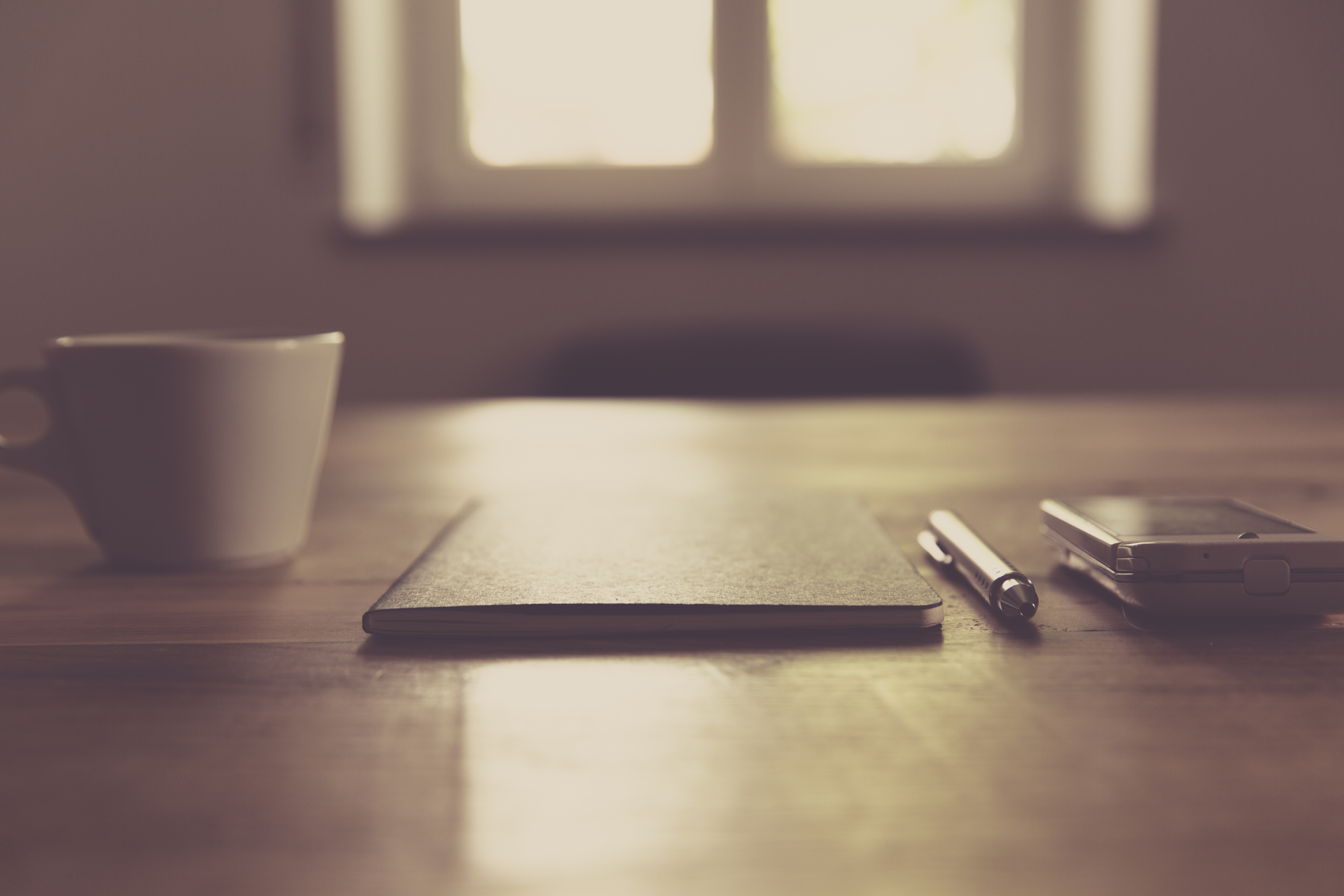 Free Images : desk, notebook, smartphone, writing, table, light ...