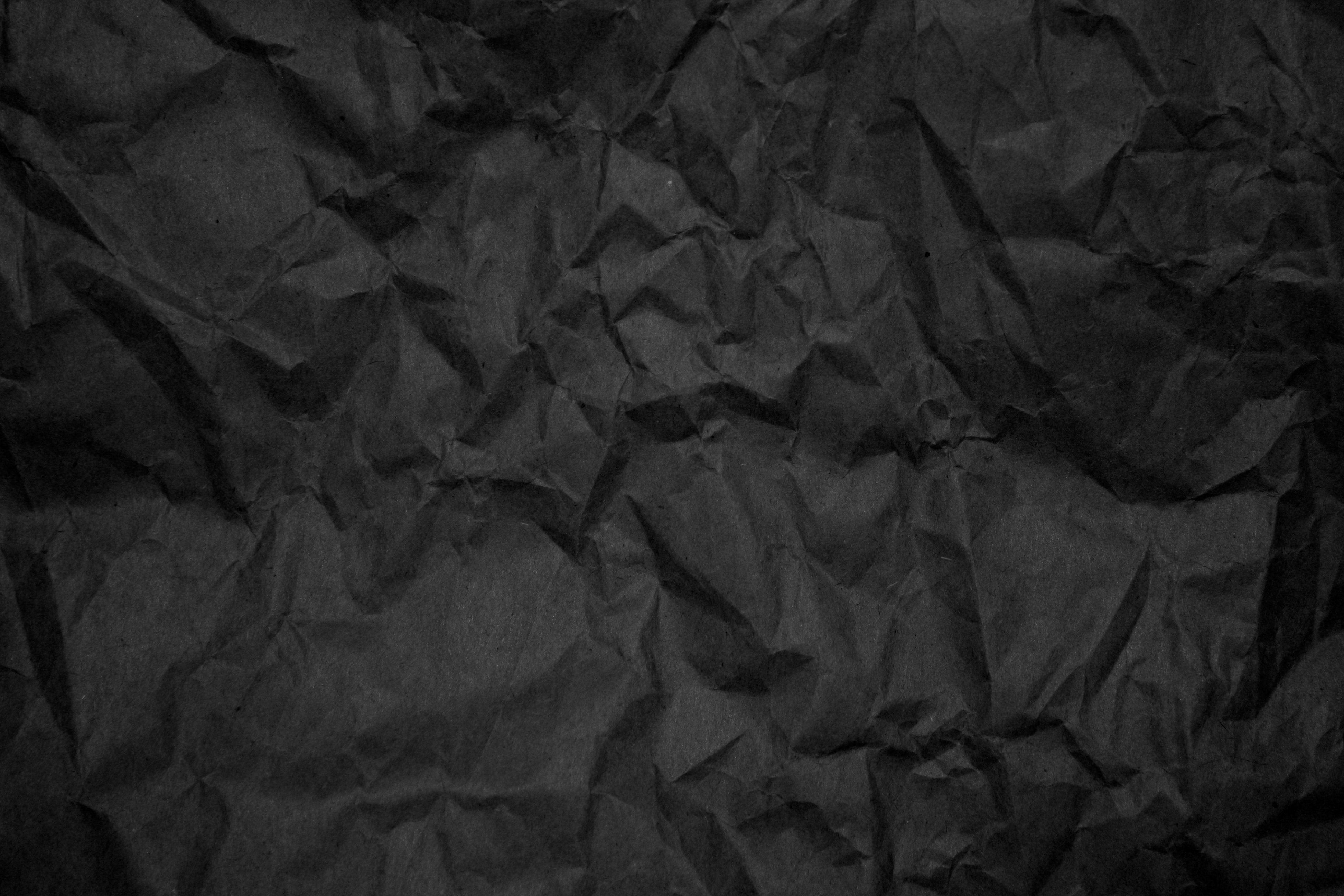 Crumpled Black Paper Texture | Material | Pinterest | Black paper ...