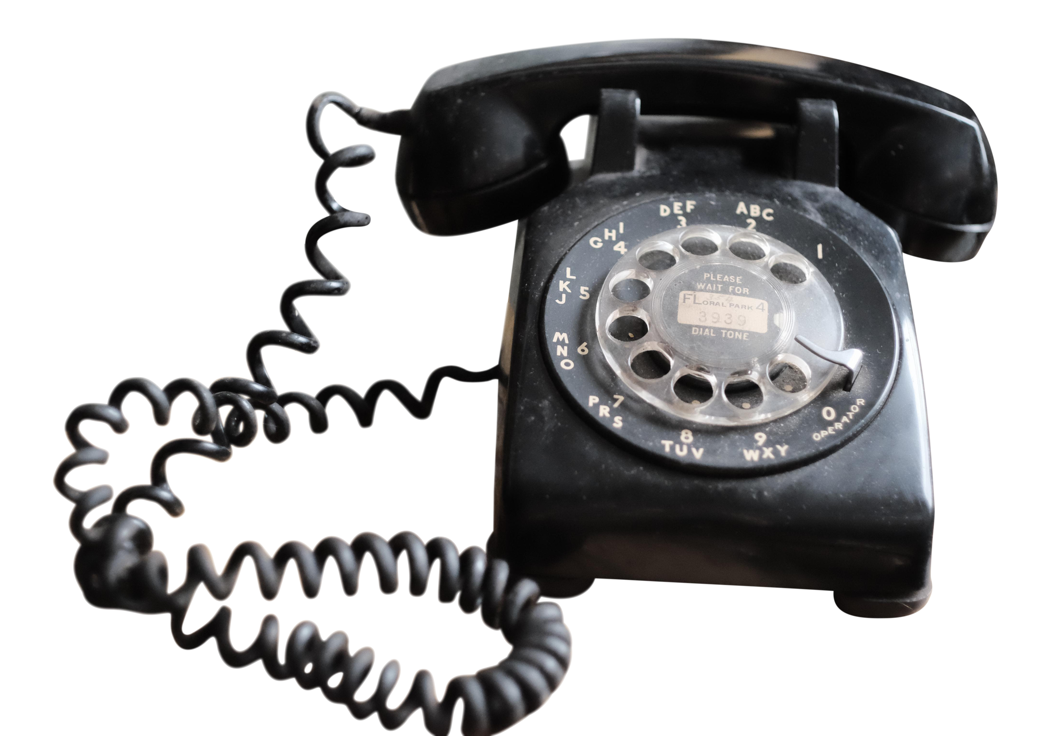 Western Electric Bell Systems Black Rotary Phone | Chairish