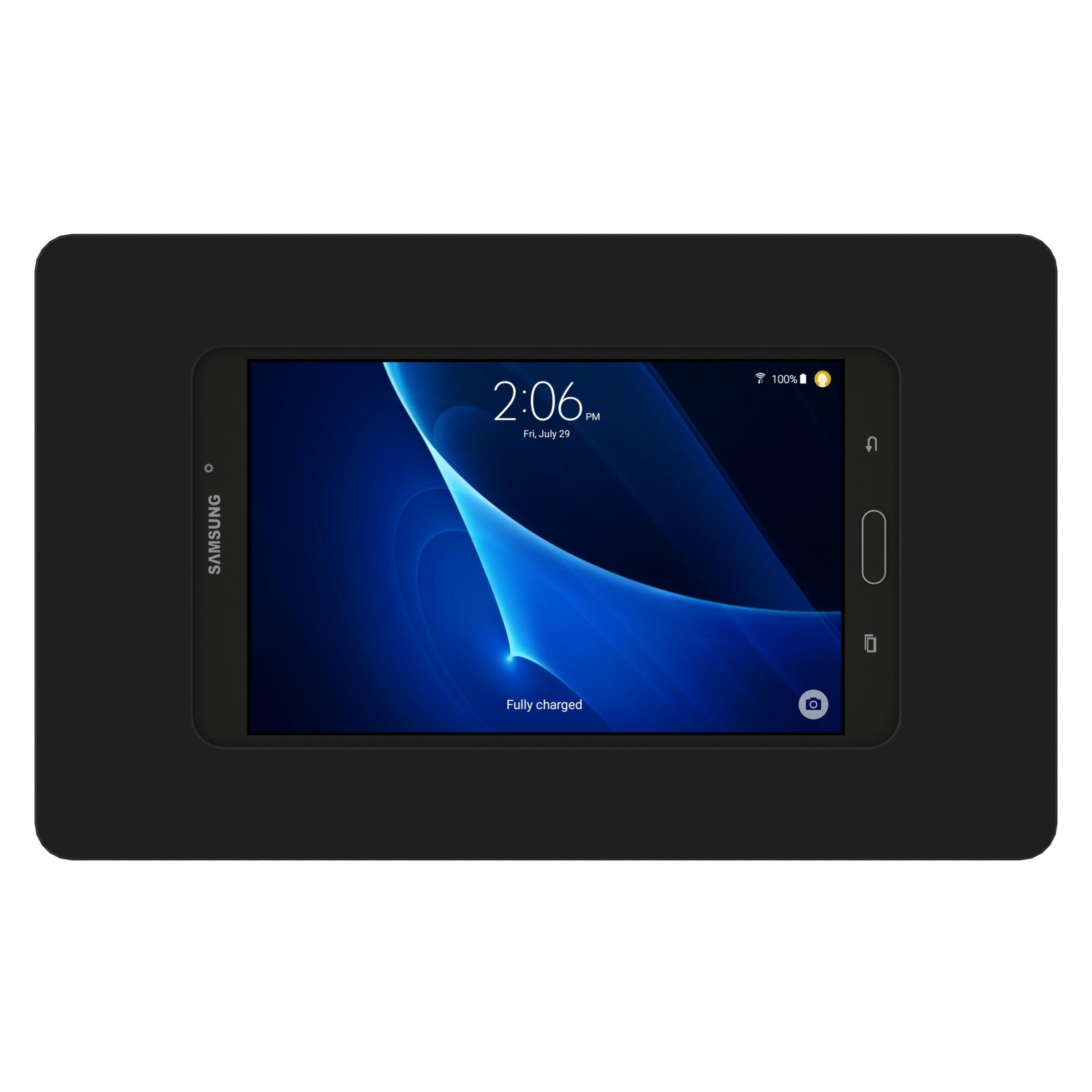 Black - Samsung Galaxy Tab A 7.0 - VidaMount On-Wall Tablet Mount