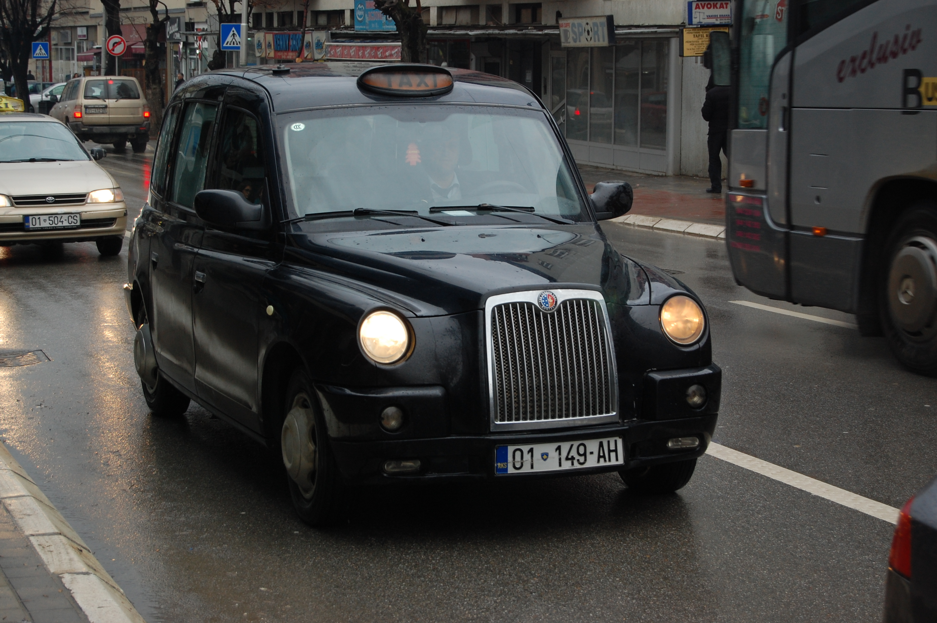 Black taxis photo