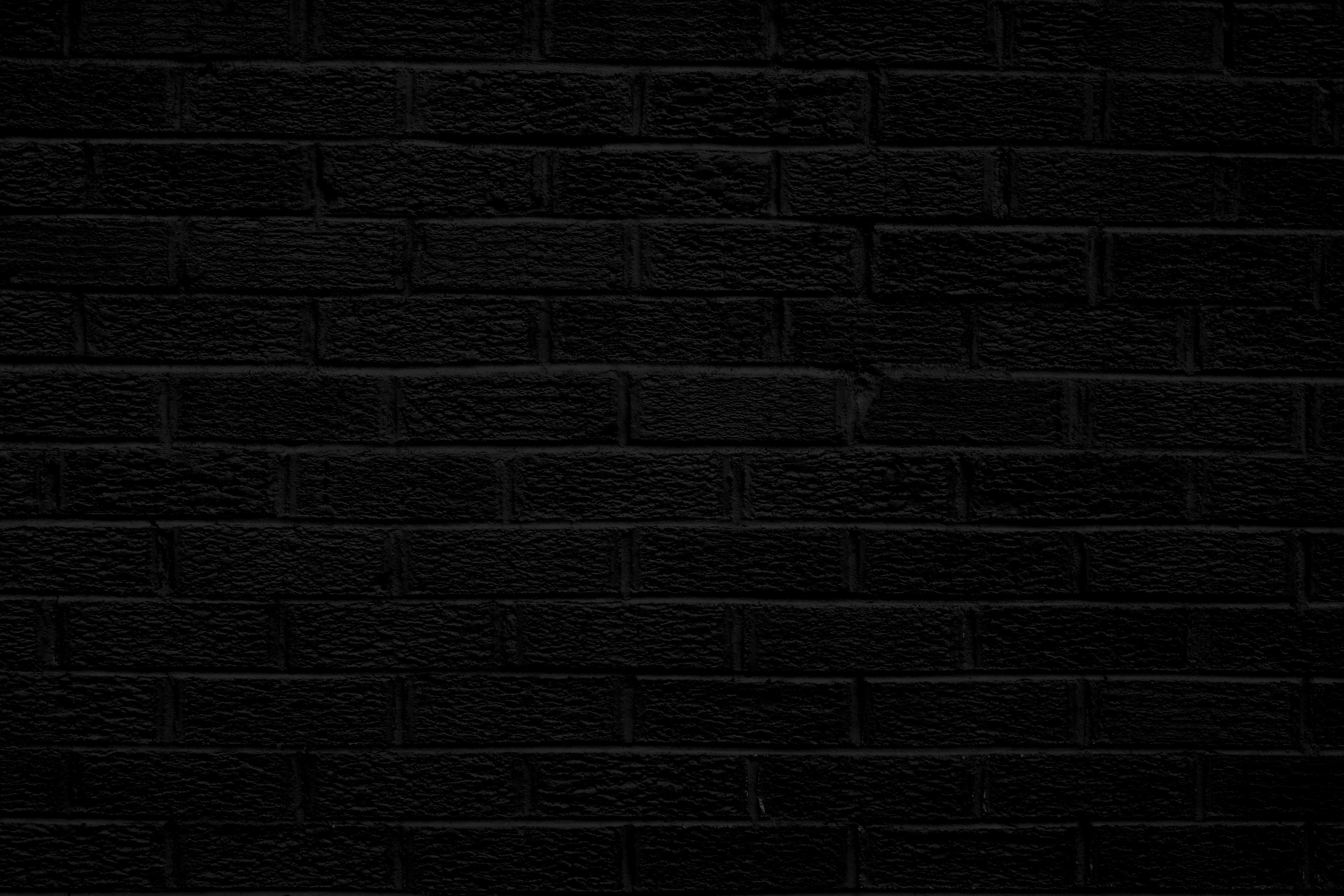 Graphic Design Background Textures | Black Brick Wall Texture ...