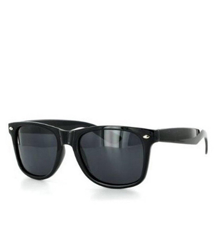 Amazon.com: Style Sunglasses Dark Lens Black Frame: Clothing