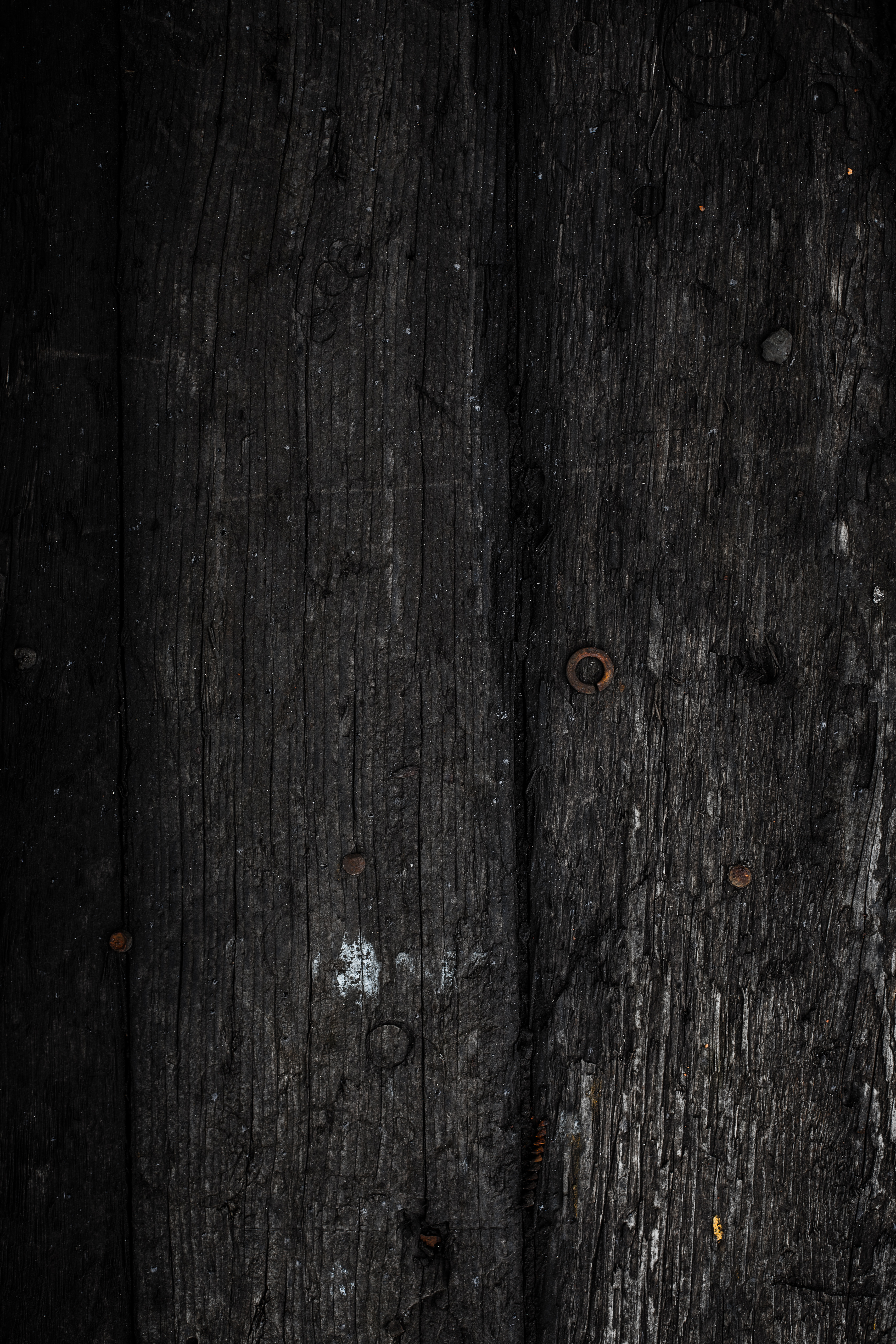 Black wood texture photo
