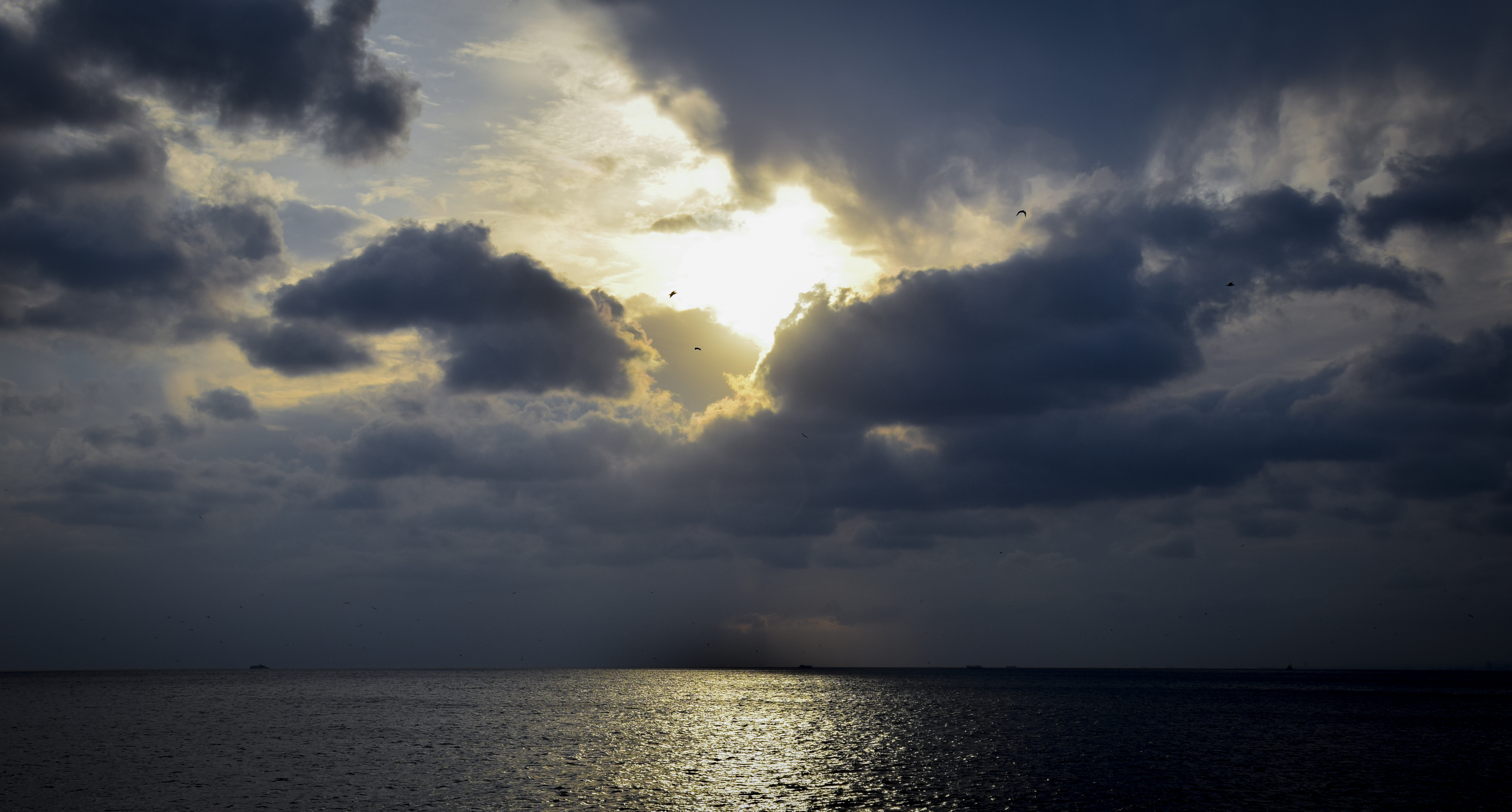 Blacksea and Sunset, Beach, Blacksea, Boat, Ocean, HQ Photo