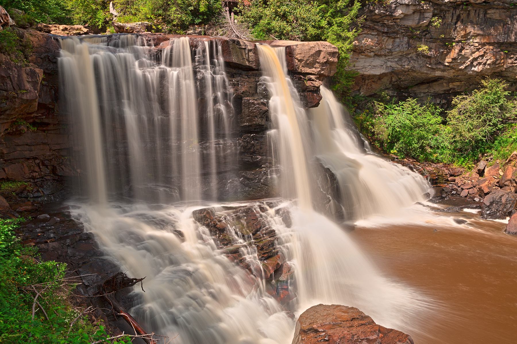 Blackwater Falls - HDR, Allegheny, Pretty, Scenic, Scenery, HQ Photo