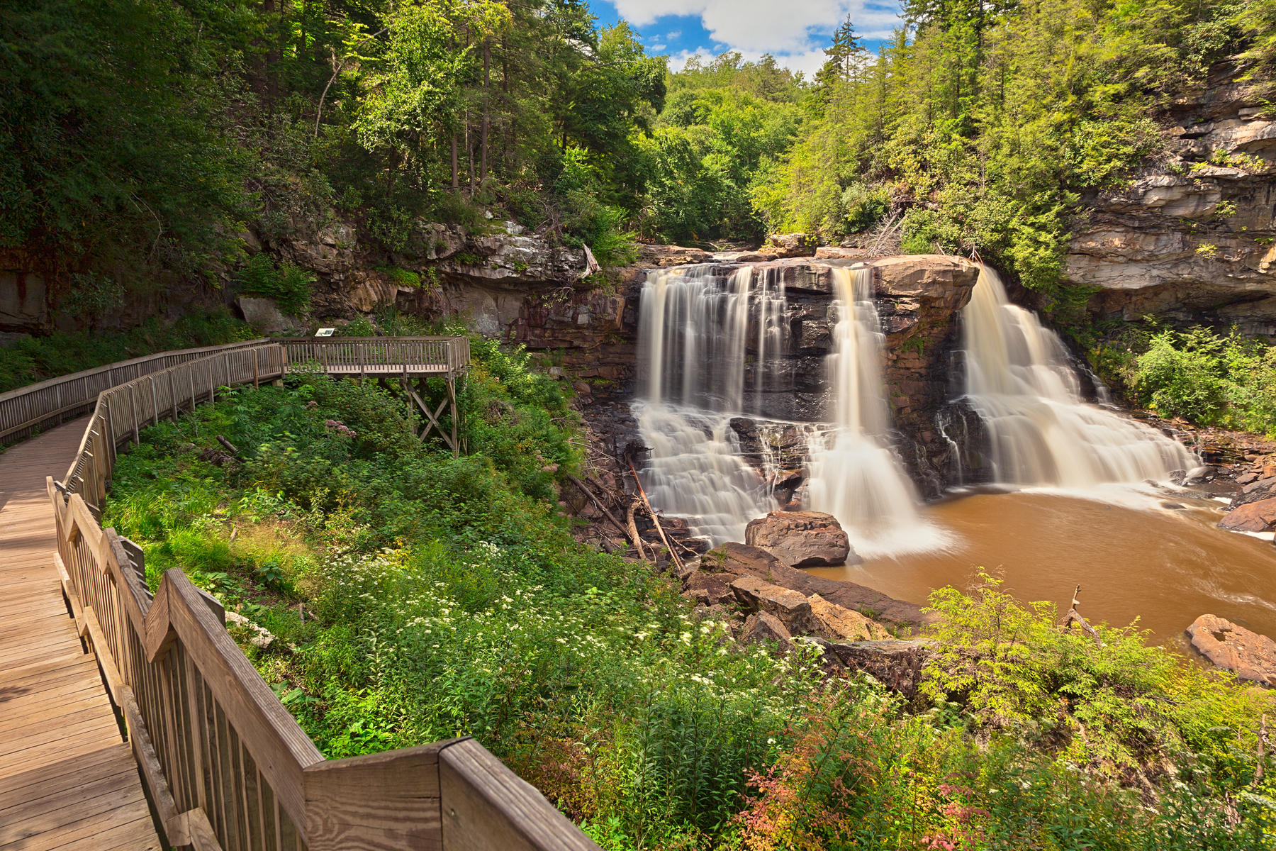 Blackwater falls - hdr photo