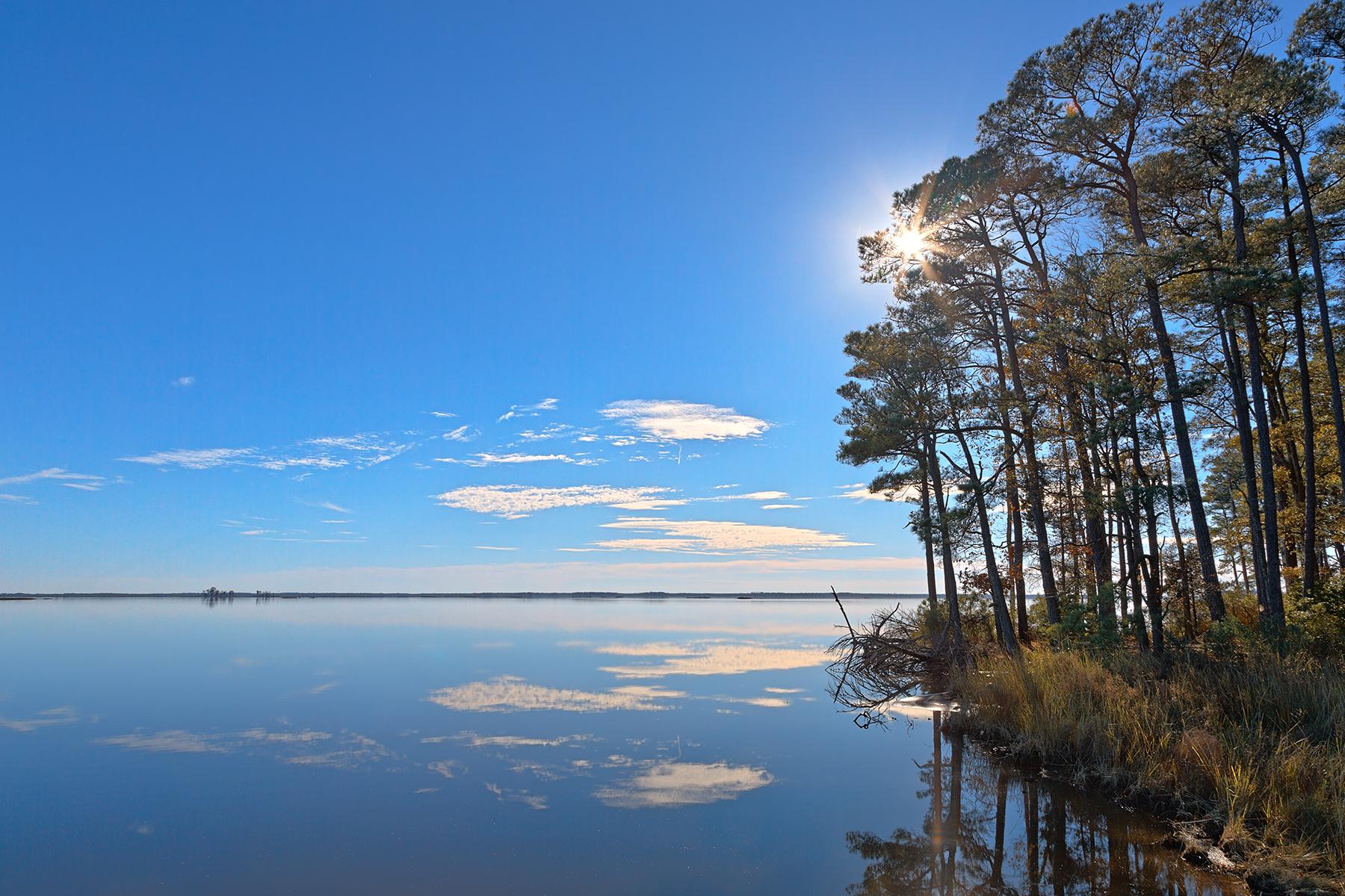 Blackwater Sunburst Marsh - HDR, Refuge, Shining, Shiney, Shine, HQ Photo