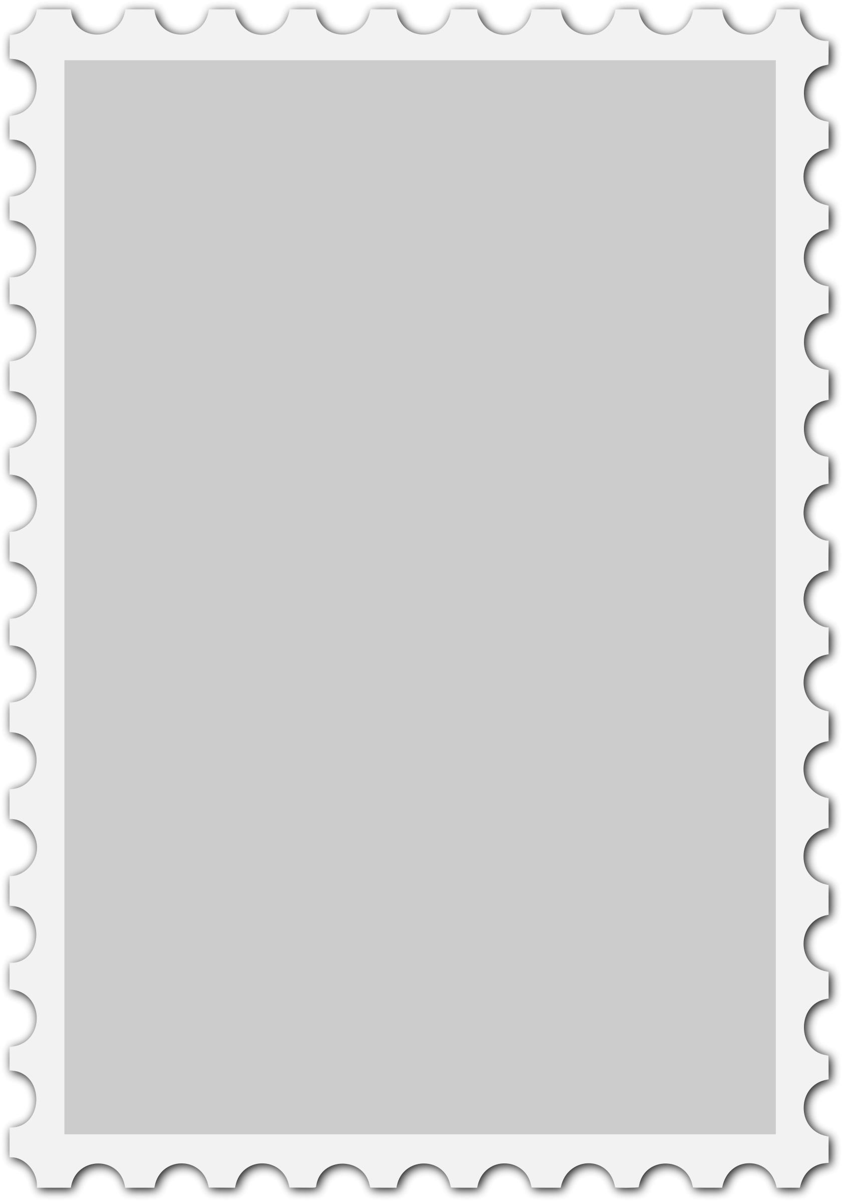 Blank stamp photo