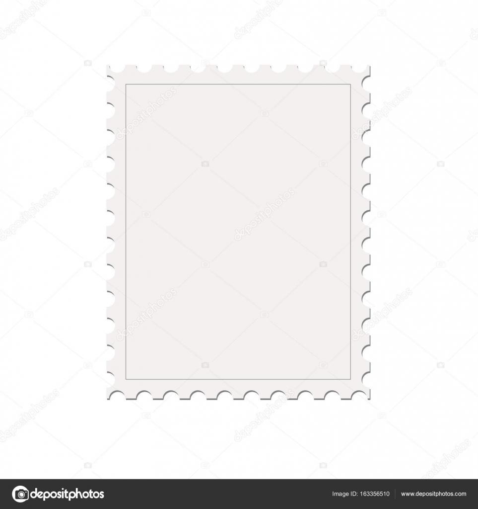 Blank Postage Stamp — Stock Vector © sanchesnet1@gmail.com #163356510