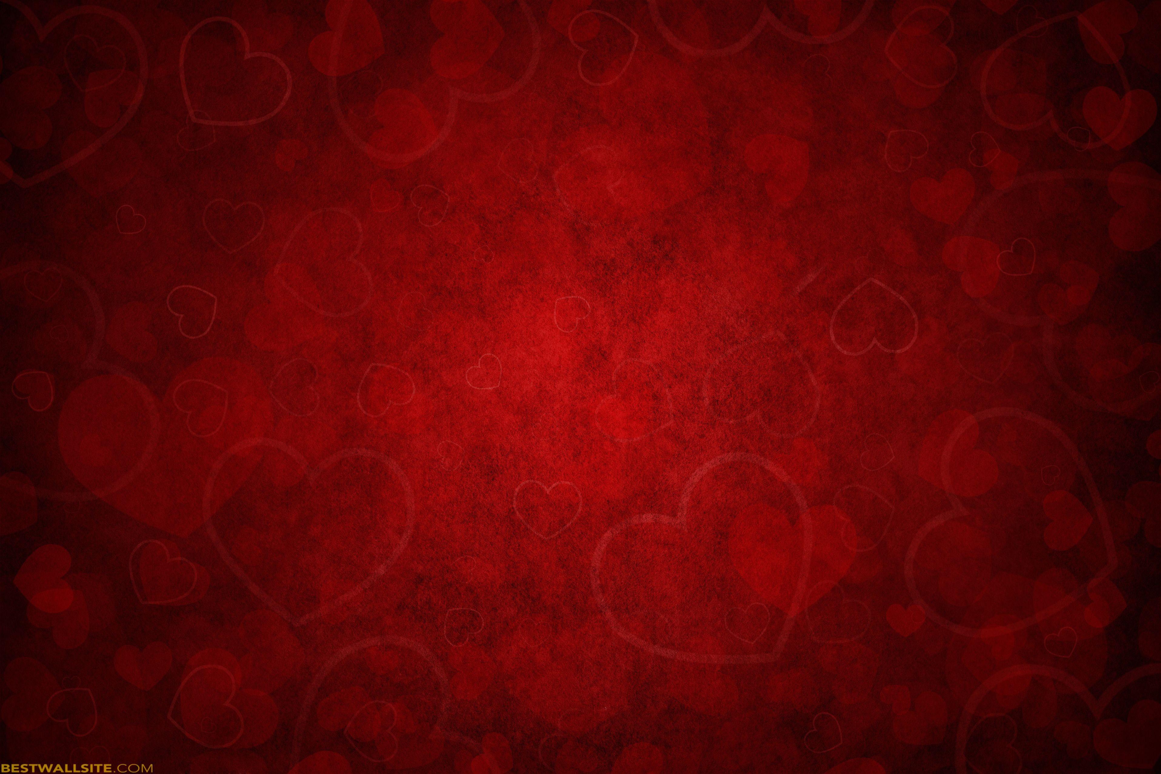 Blood Red Hearts Screensaver   BestWallSite.com