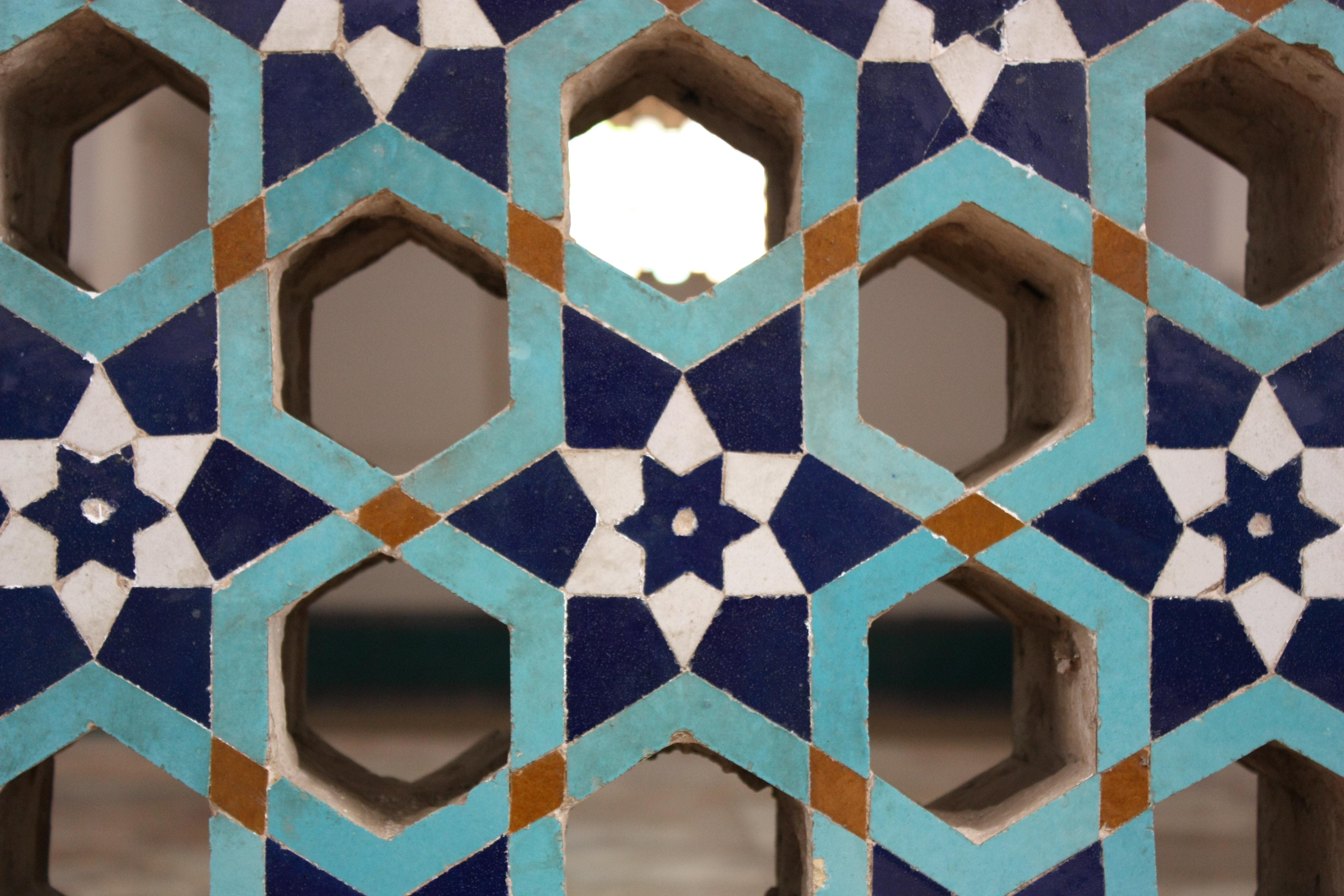 Blue and Light-blue Wooden Organizer, Art, Decoration, Design, Geometric, HQ Photo