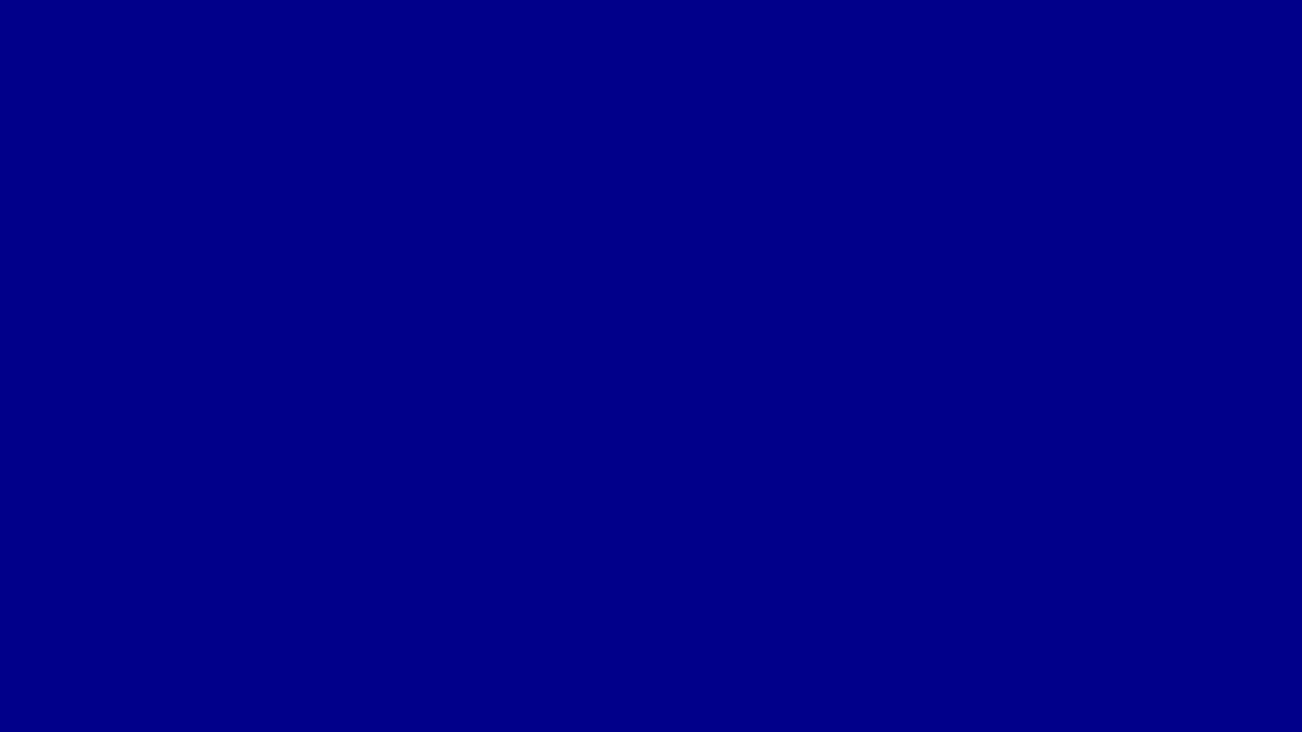 2560x1440 Dark Blue Solid Color Background