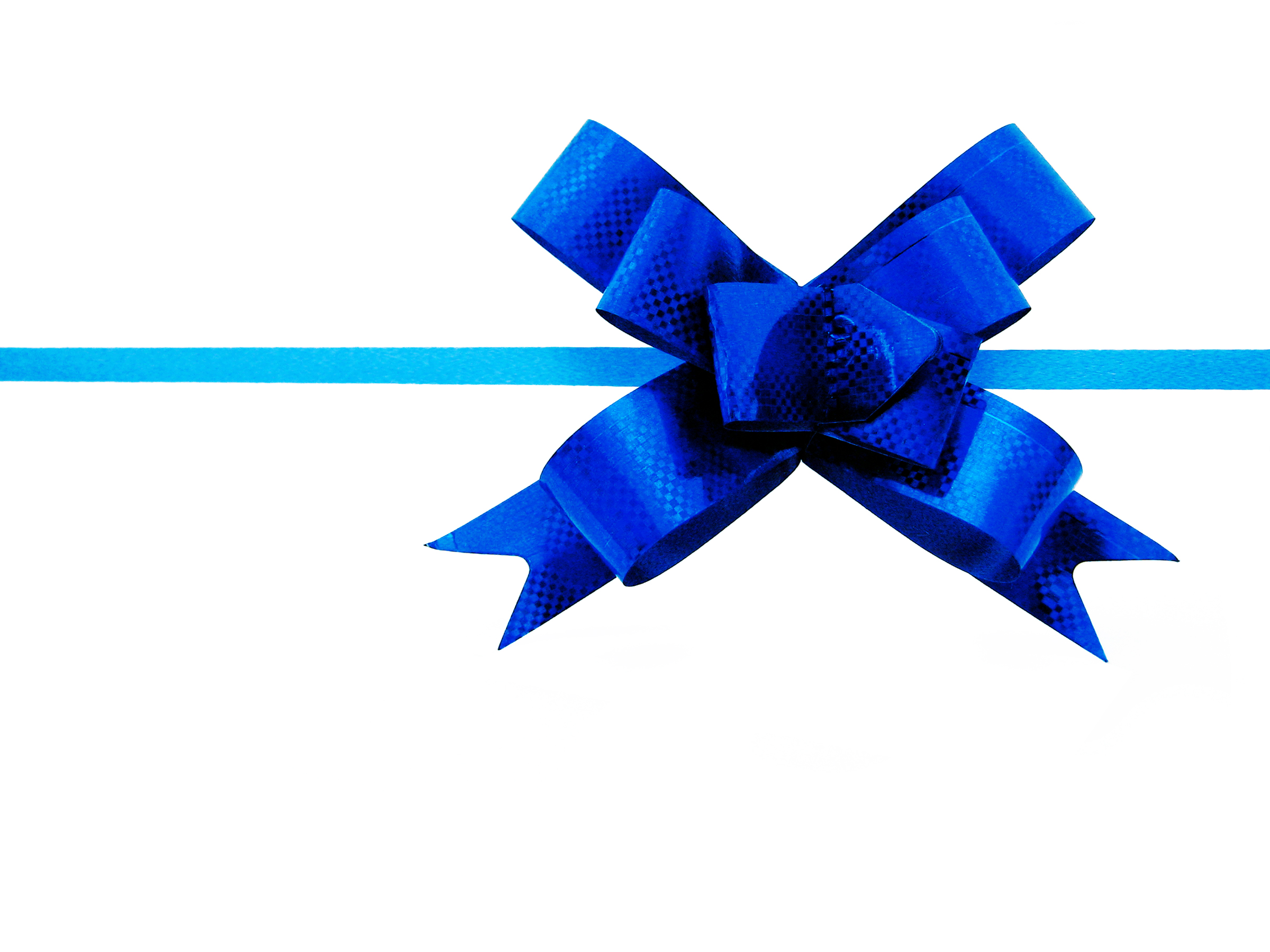 blue bow, Birthday, Xmas, Wrappingpaper, Wrapping, HQ Photo