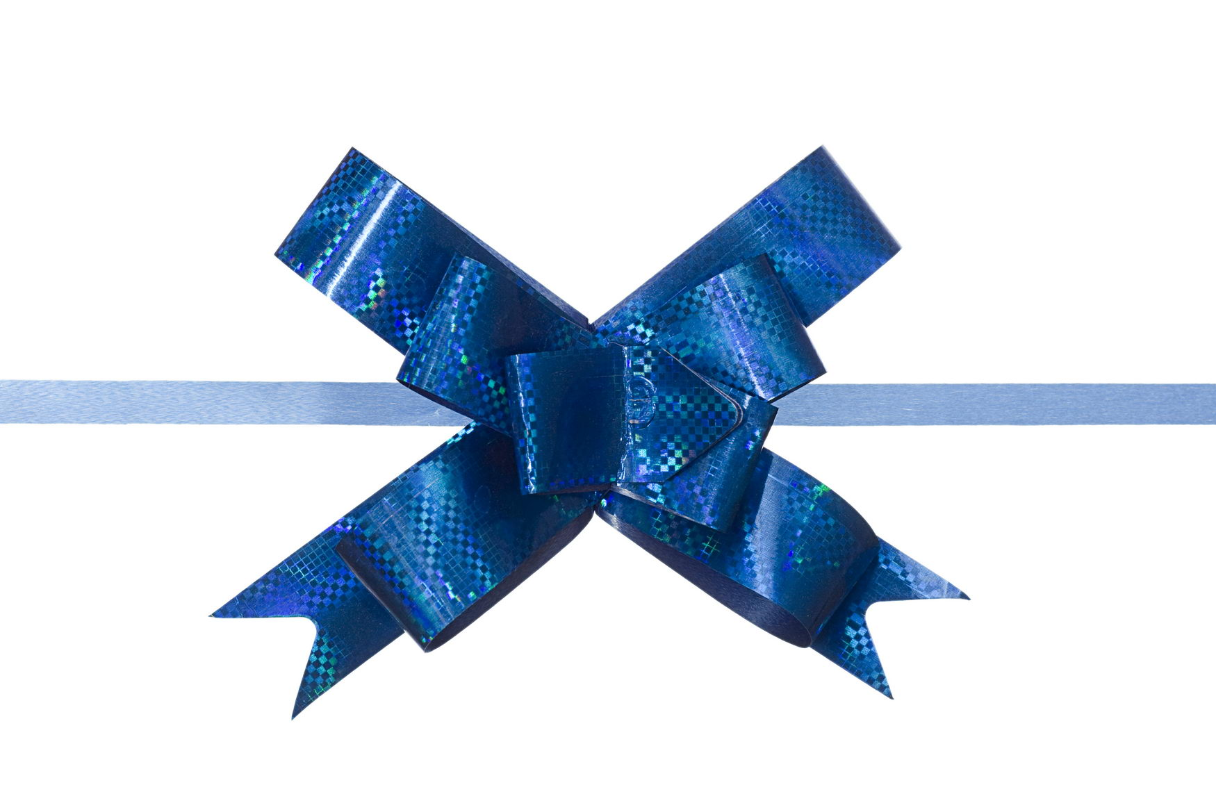 blue bow, Ribbon, Present, Party, Package, HQ Photo