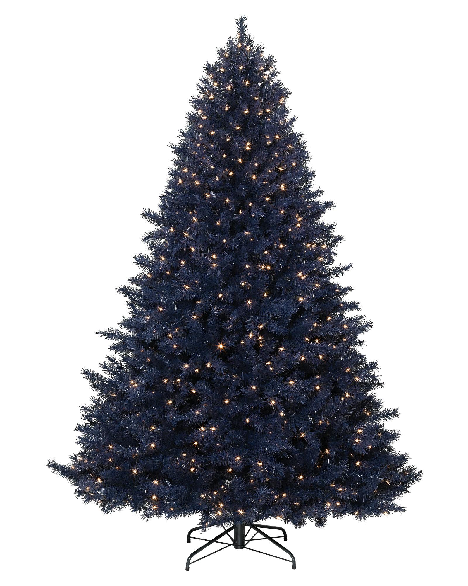 Navy Blue Artificial Christmas Tree | Treetopia