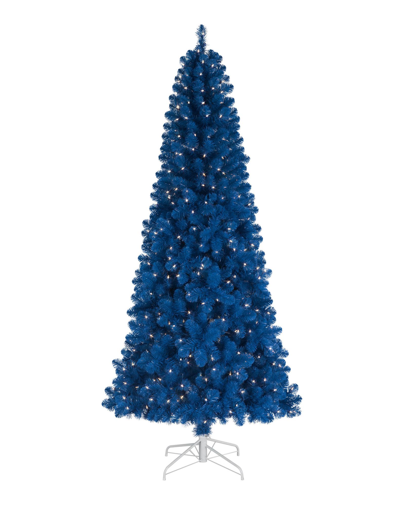 Blue Artificial Christmas Tree | Treetopia