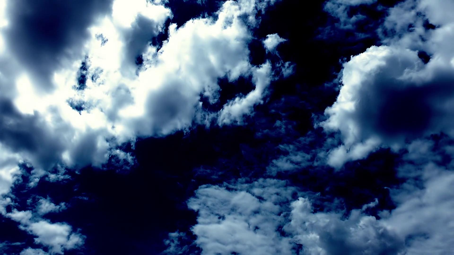 free photo  blue clouds - air  blue  clouds