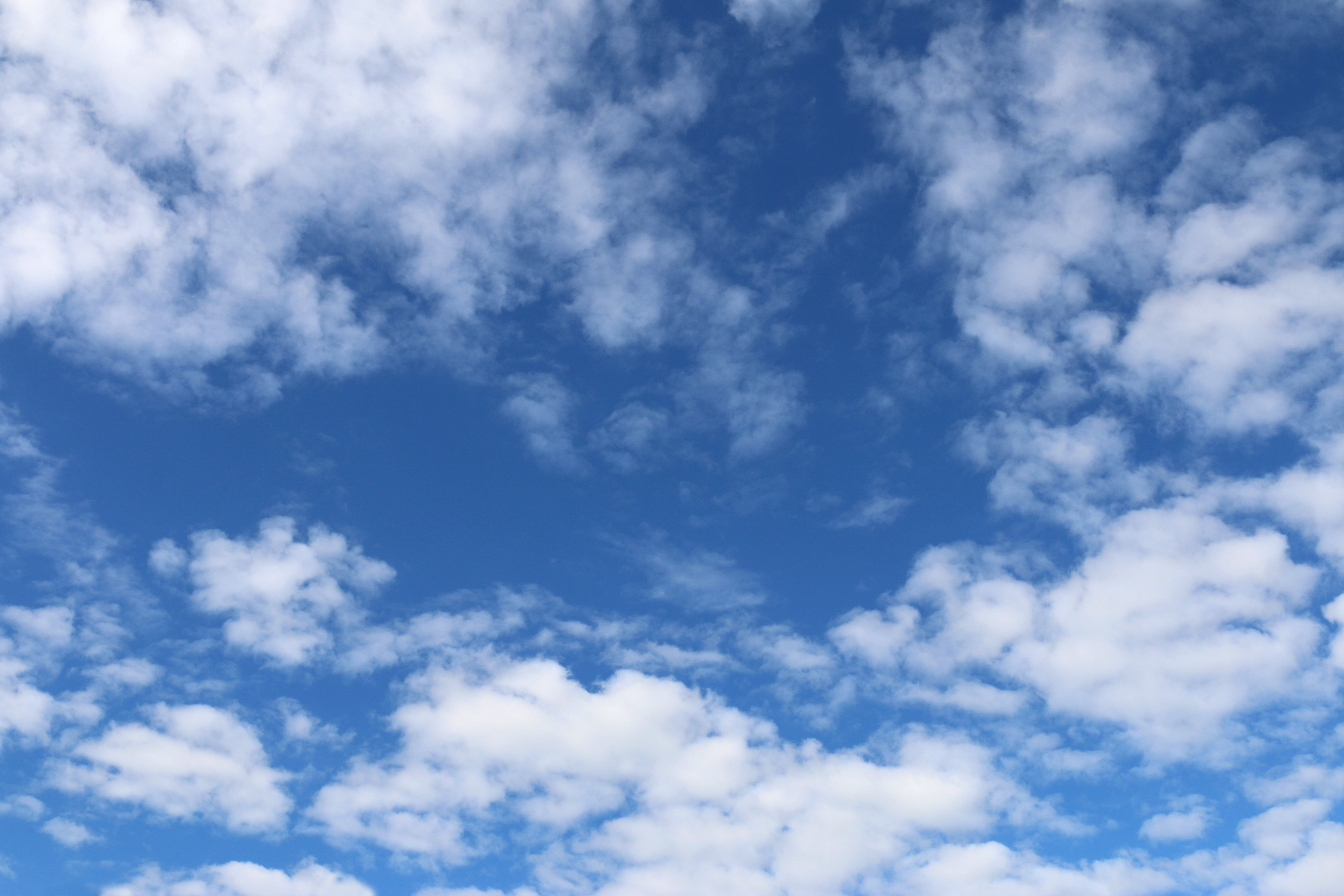 Cloudy Blue Sky Photo