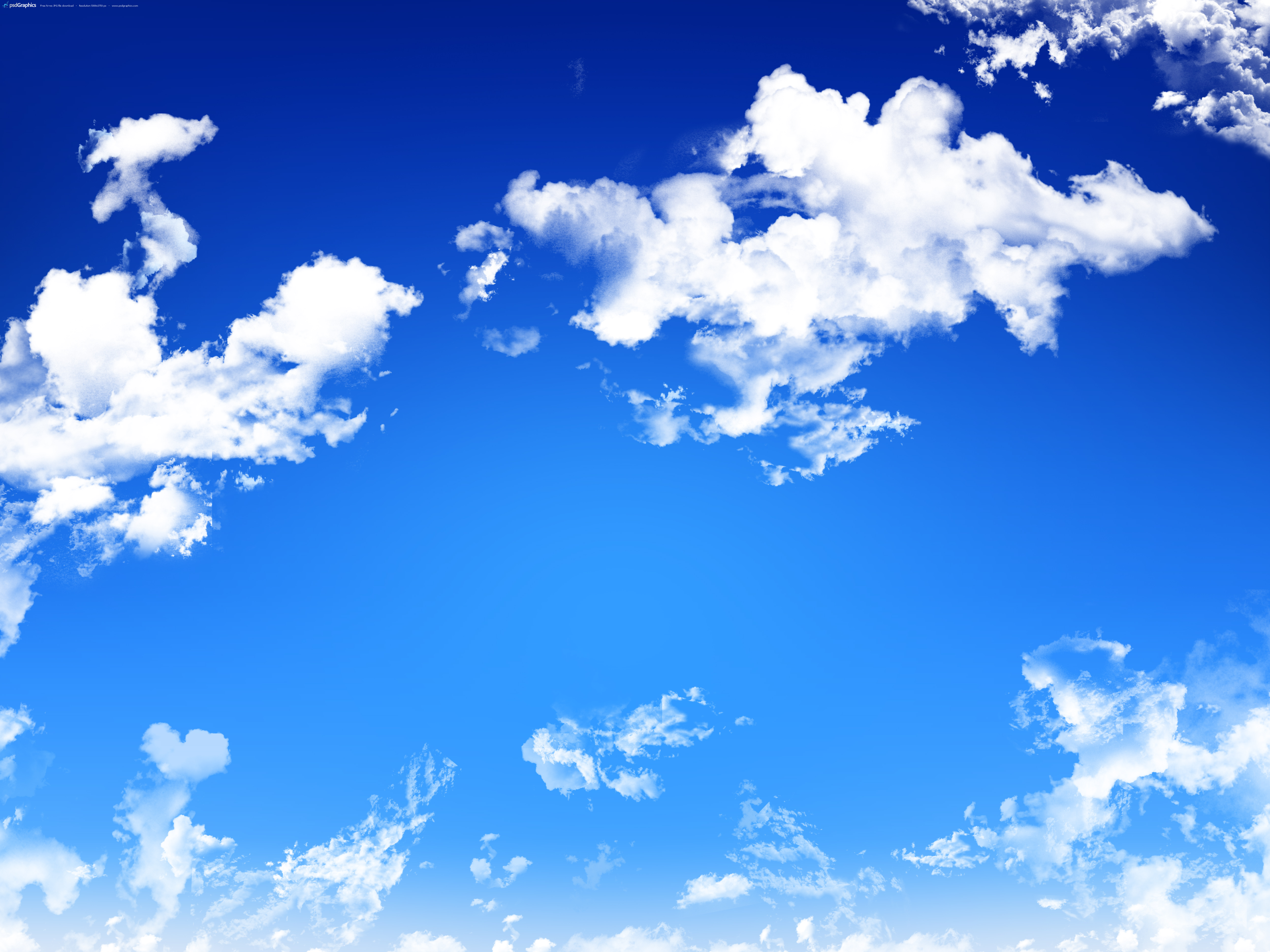 free photo blue cloudy sky skies sky puffy free download jooinn