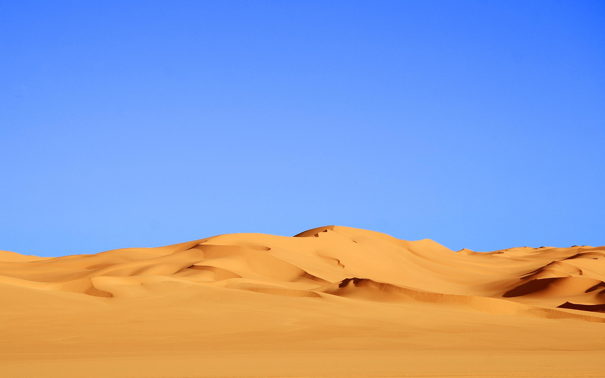 Download Desert Blue Wallpaper 2560x1600 | Wallpoper #332630