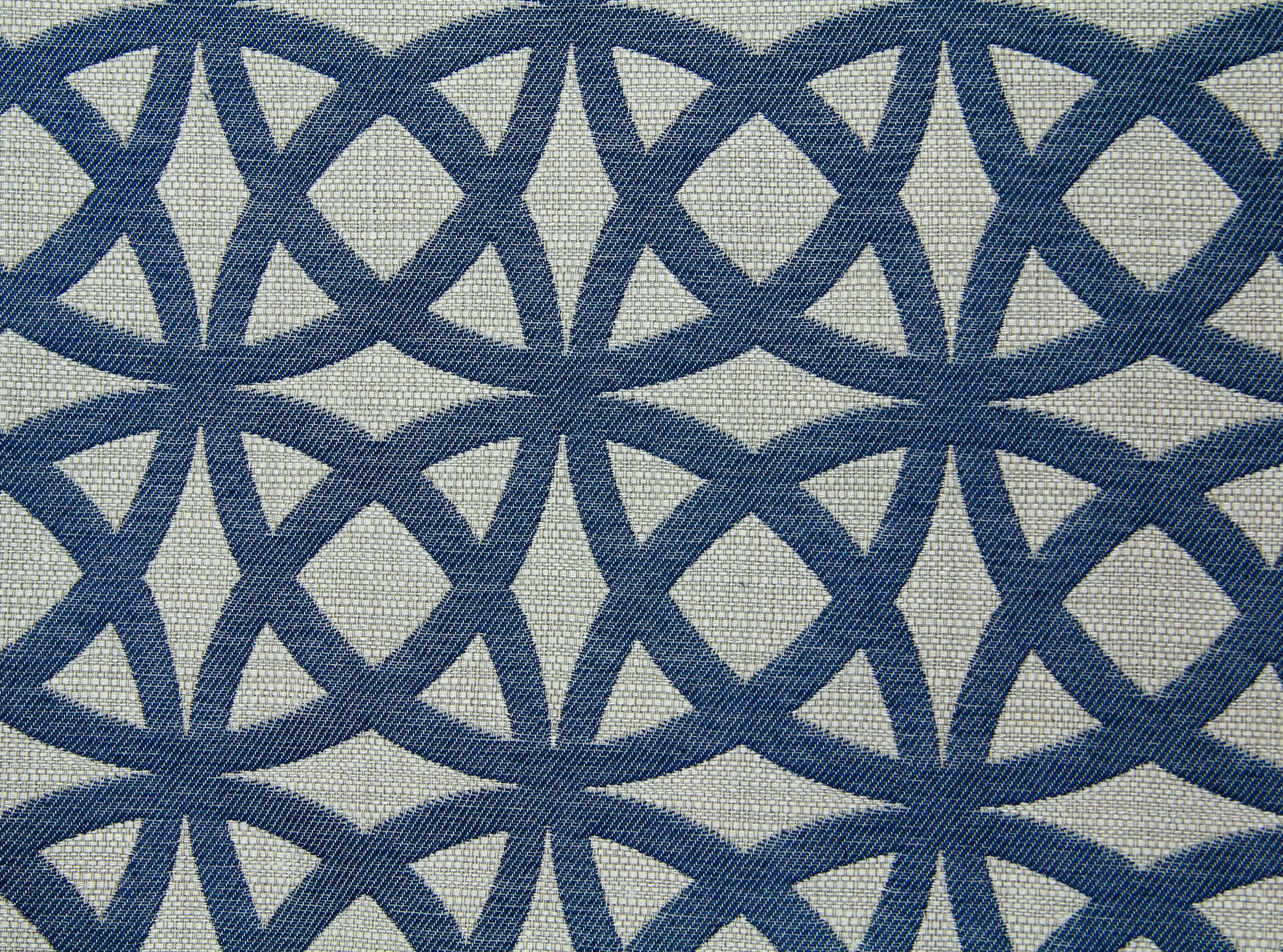 fabric texture blue circle pattern vintage photo - TextureX- Free ...