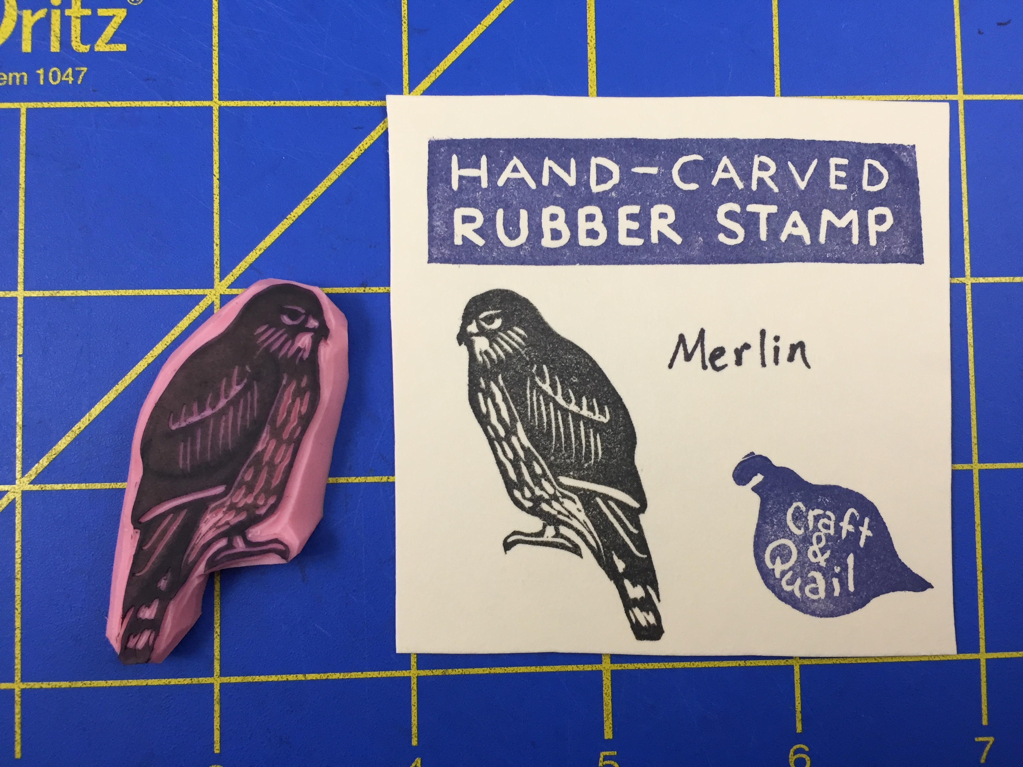 Prints & Stamps – Craft and Quail