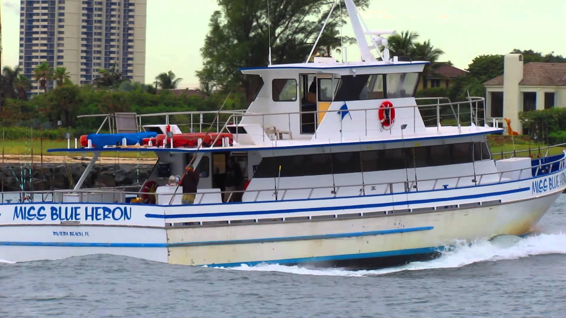 Miss Blue Heron, Fishing Vessel. Riviera Beach Florida - YouTube