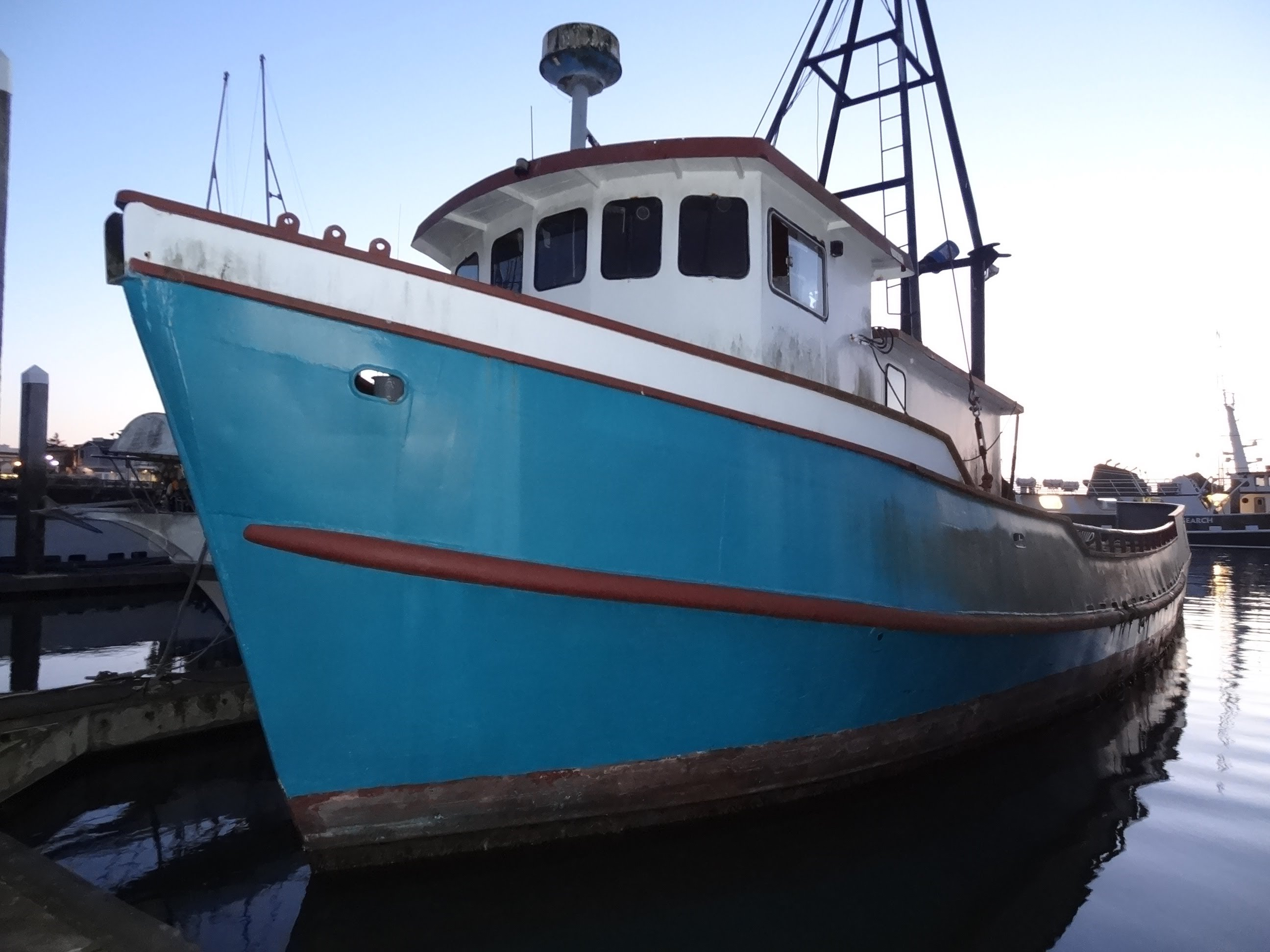 Commercial Fishing Boat Overview Ship Vessel Video clip For Sale 68 ...