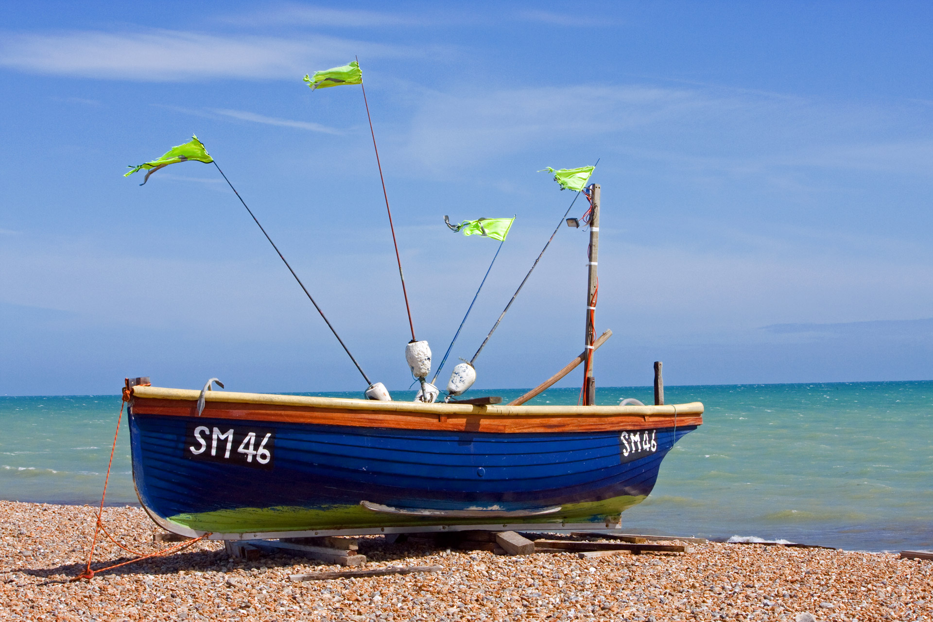Wooden Fishing Boat Free Stock Photo - Public Domain Pictures