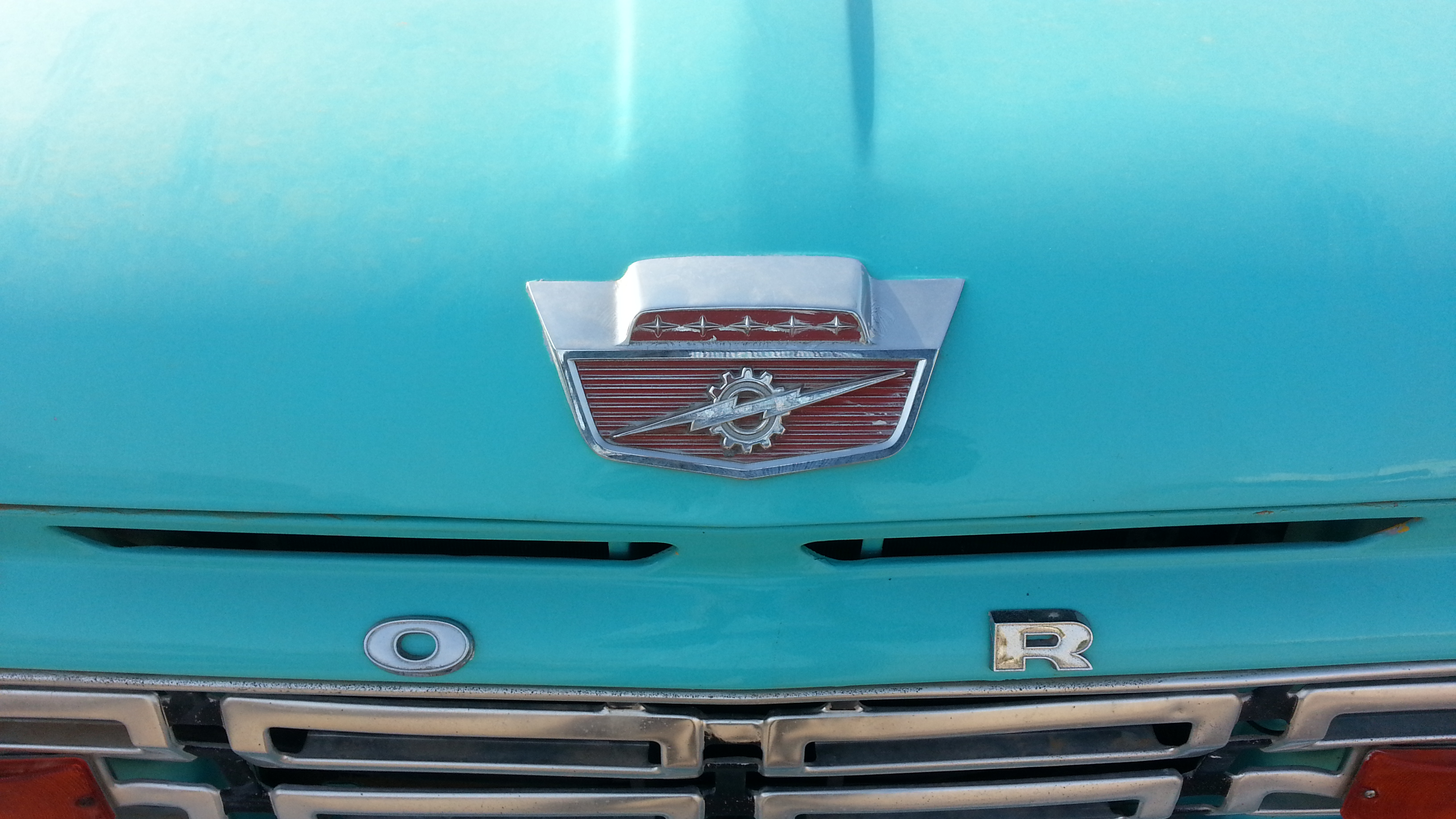 Blue Ford Truck, Auto, Automobile, Car, Old, HQ Photo