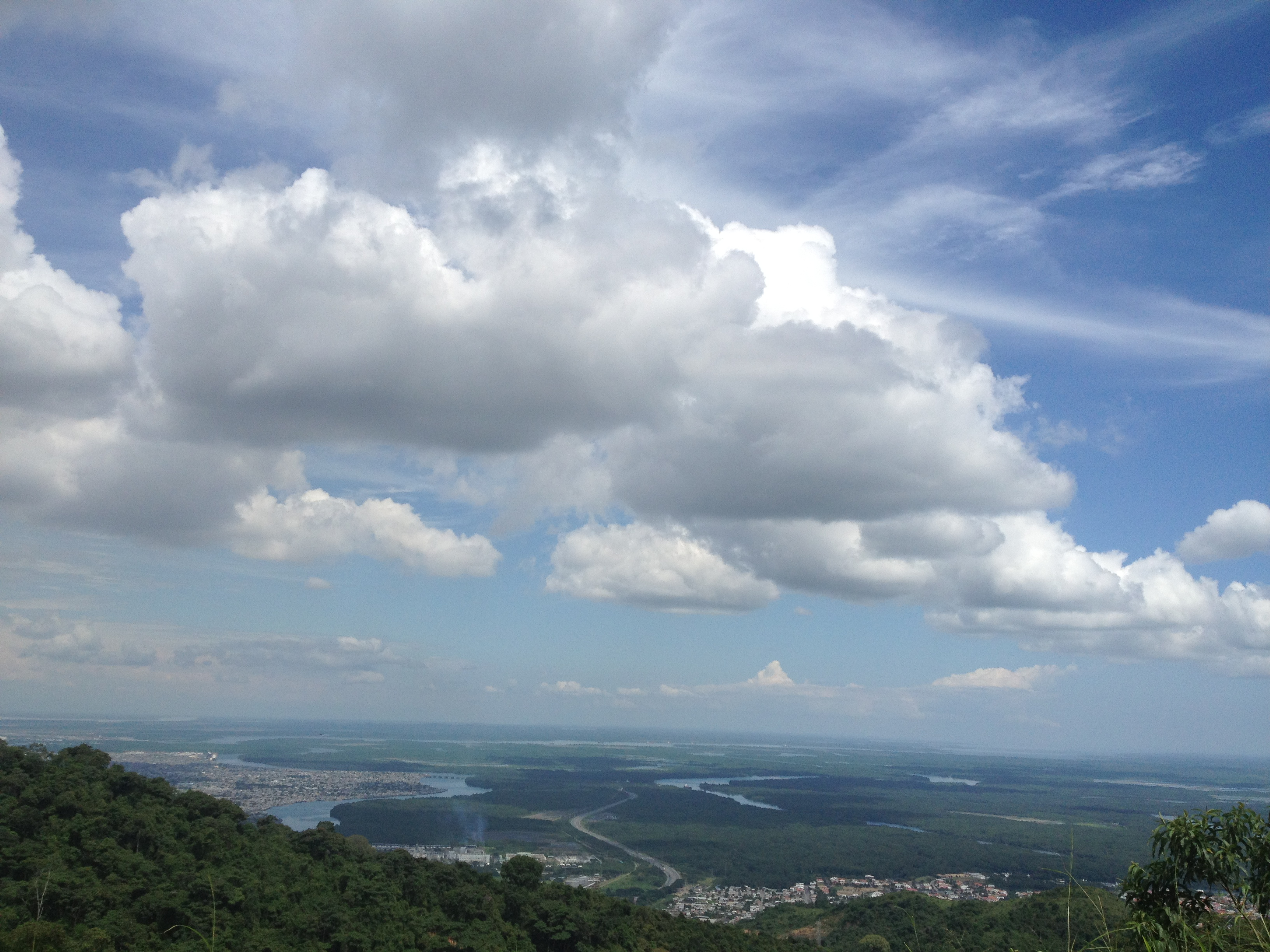 Blue hill, Azul, Clouds, Landscape, Sky, HQ Photo