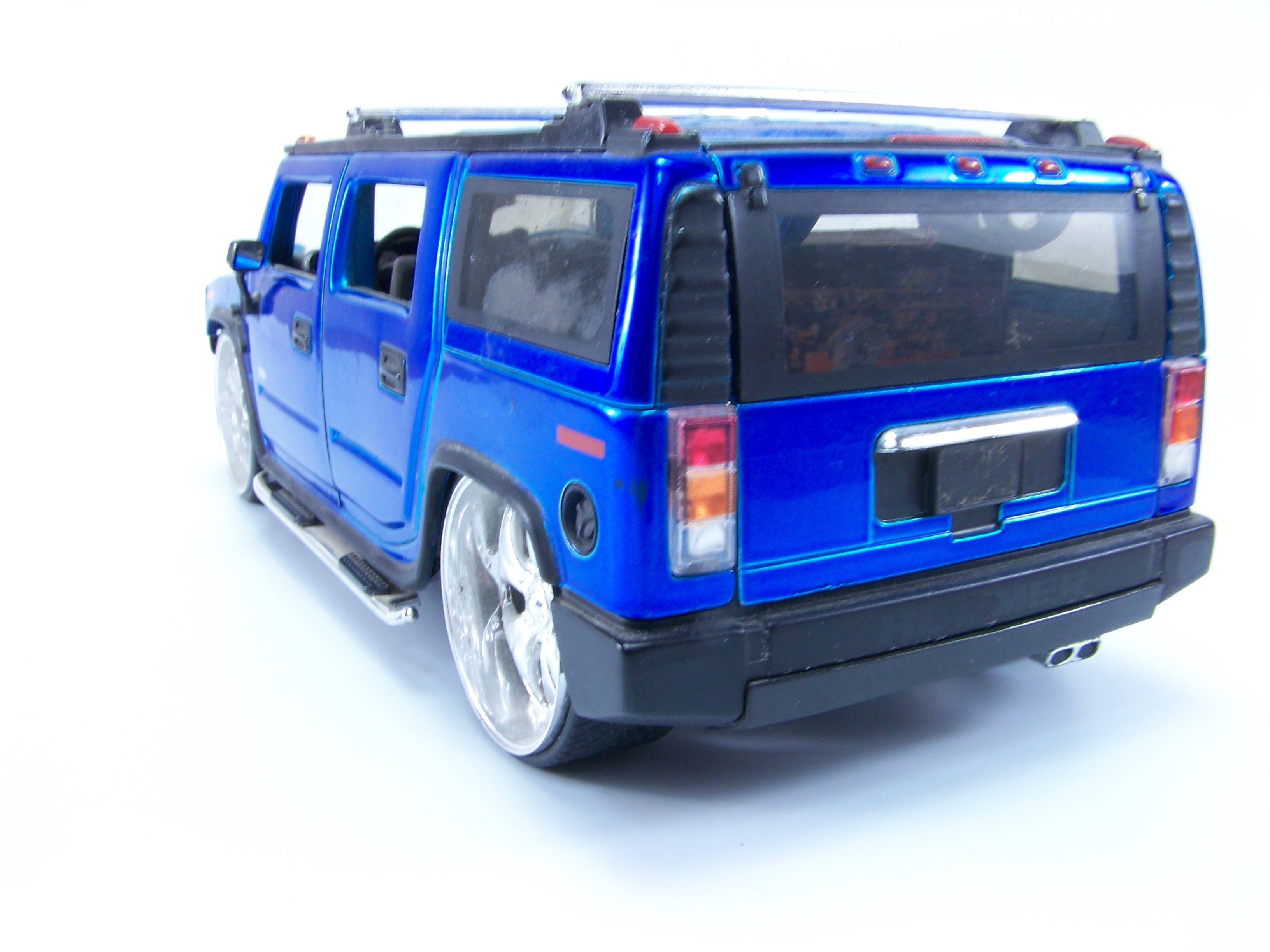 Blue hummer toy photo