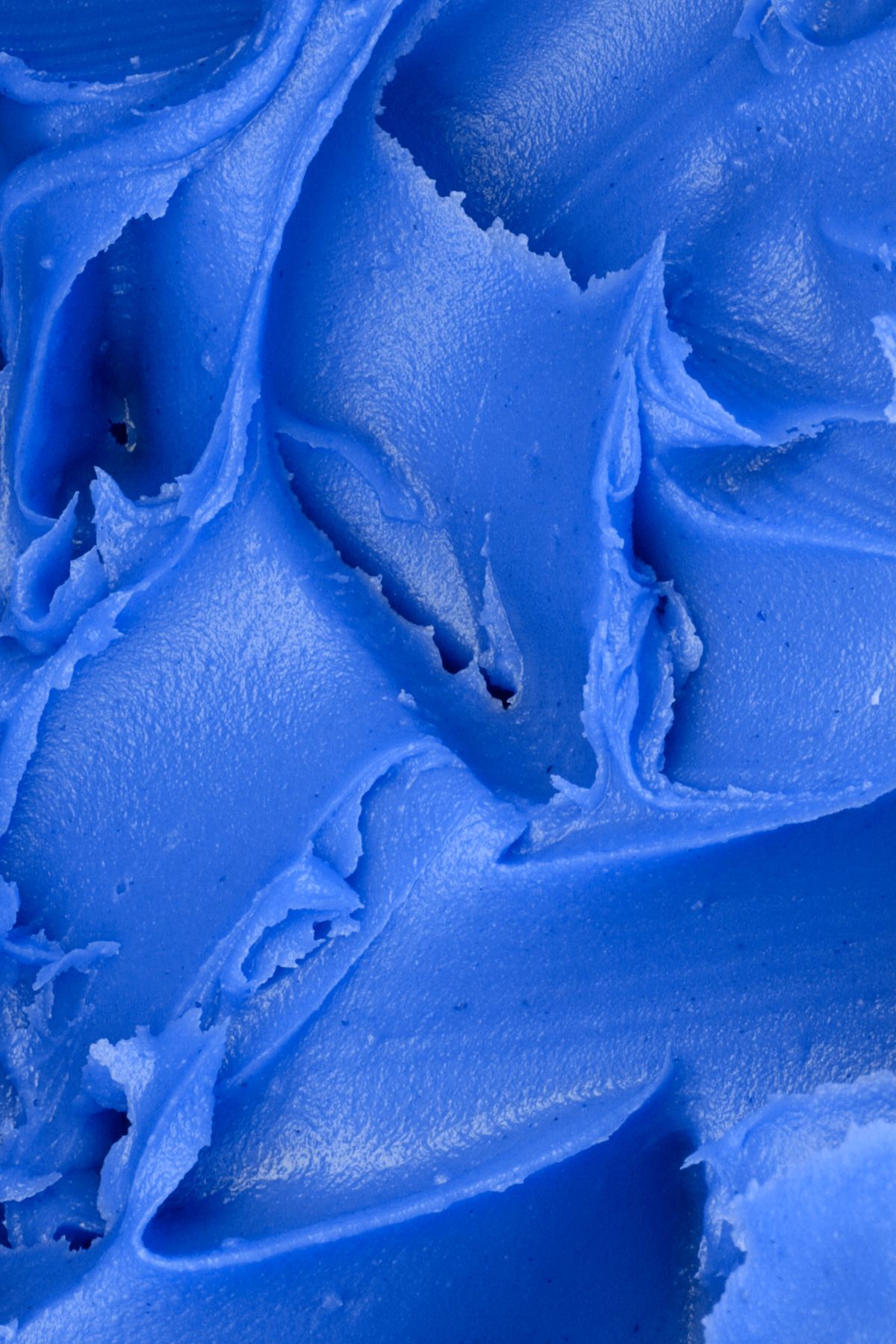 Blue icing texture photo