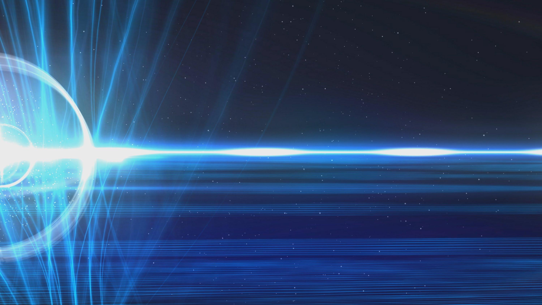 60fps Dark Blue Strings Of Light Halo Effect Motion: Free Photo: Blue Light Effect