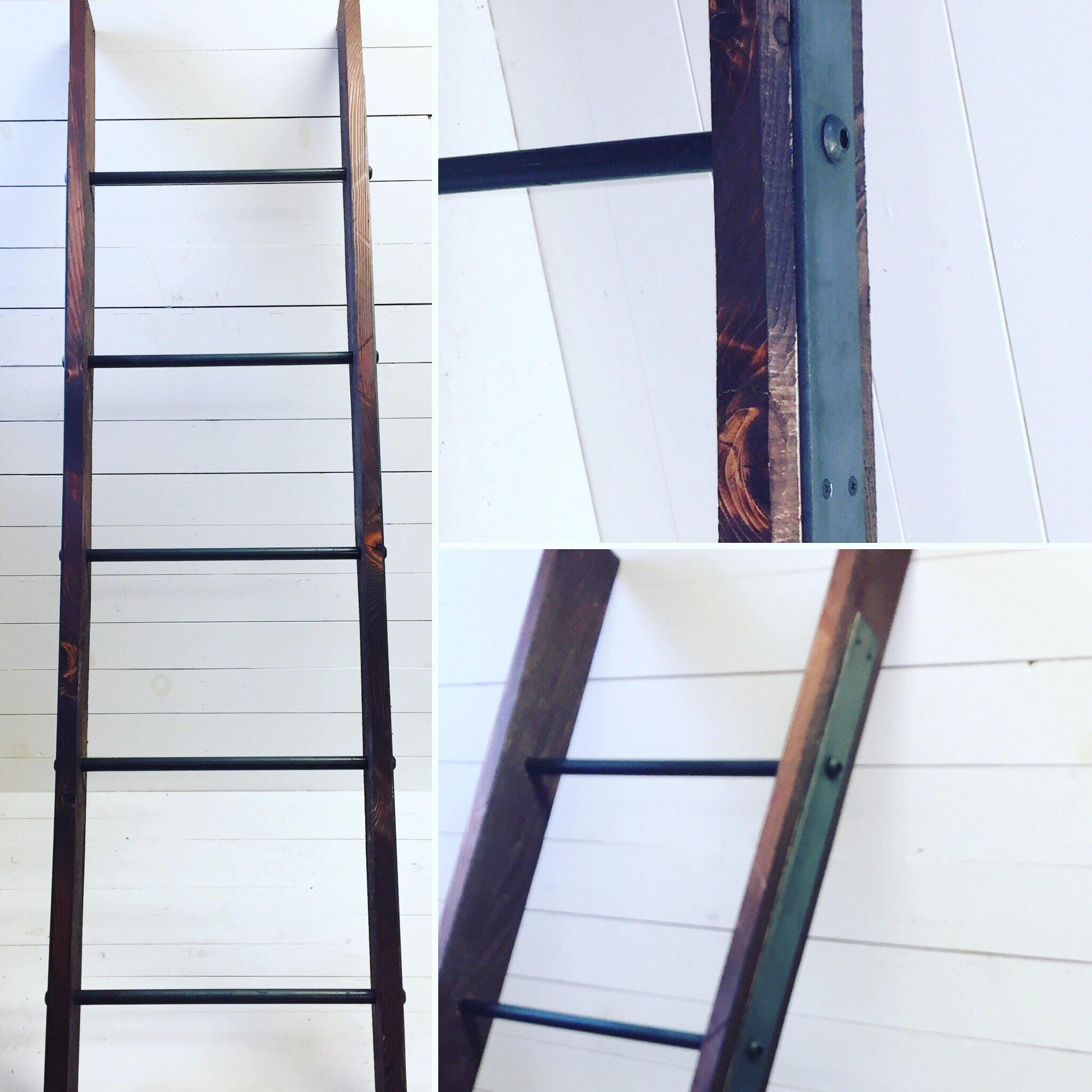 Blanket Ladder, Ladder, Home Decor, Rustic Ladder, Wooden Ladder ...