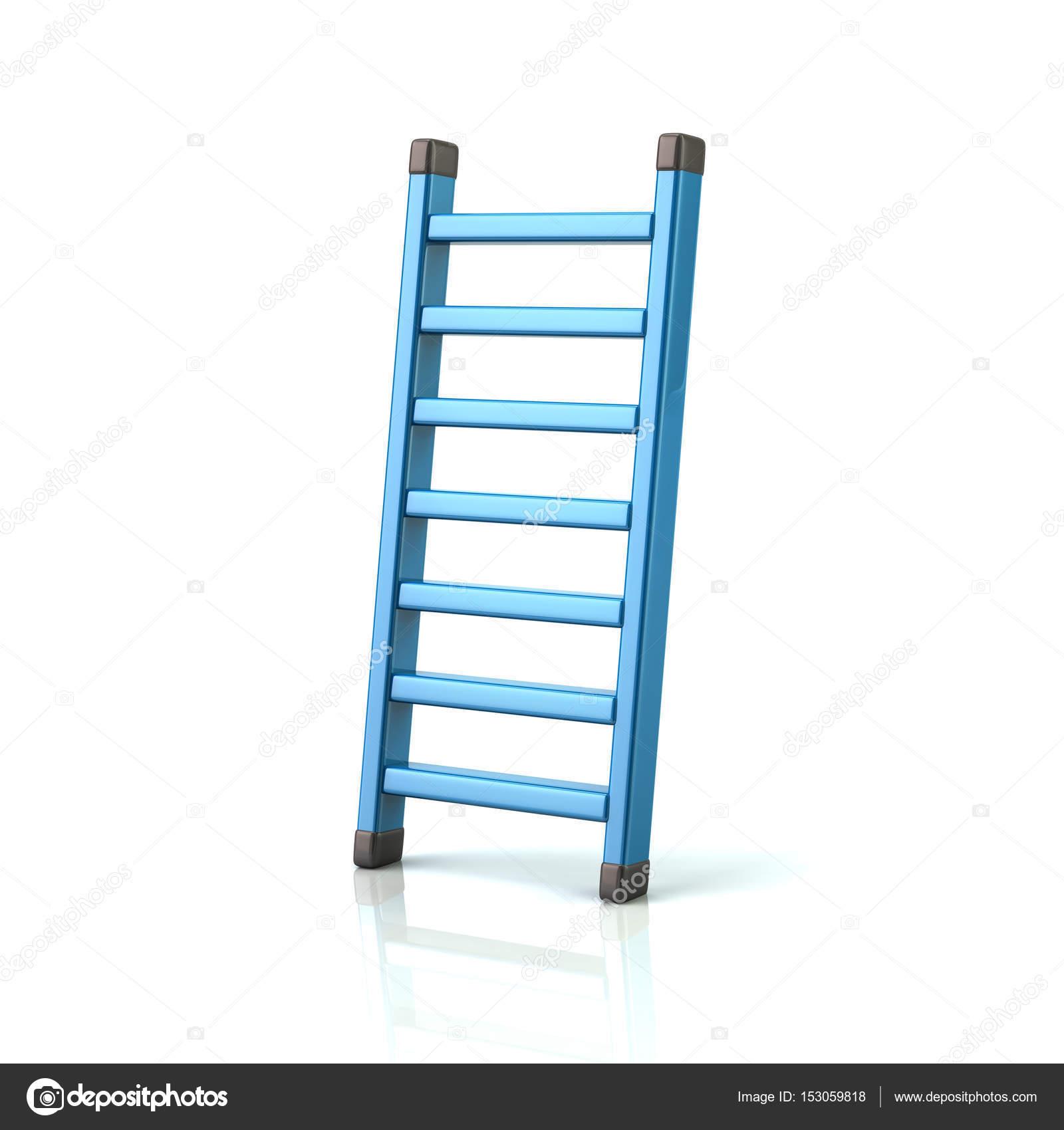 Blue ladder icon — Stock Photo © valdum #153059818