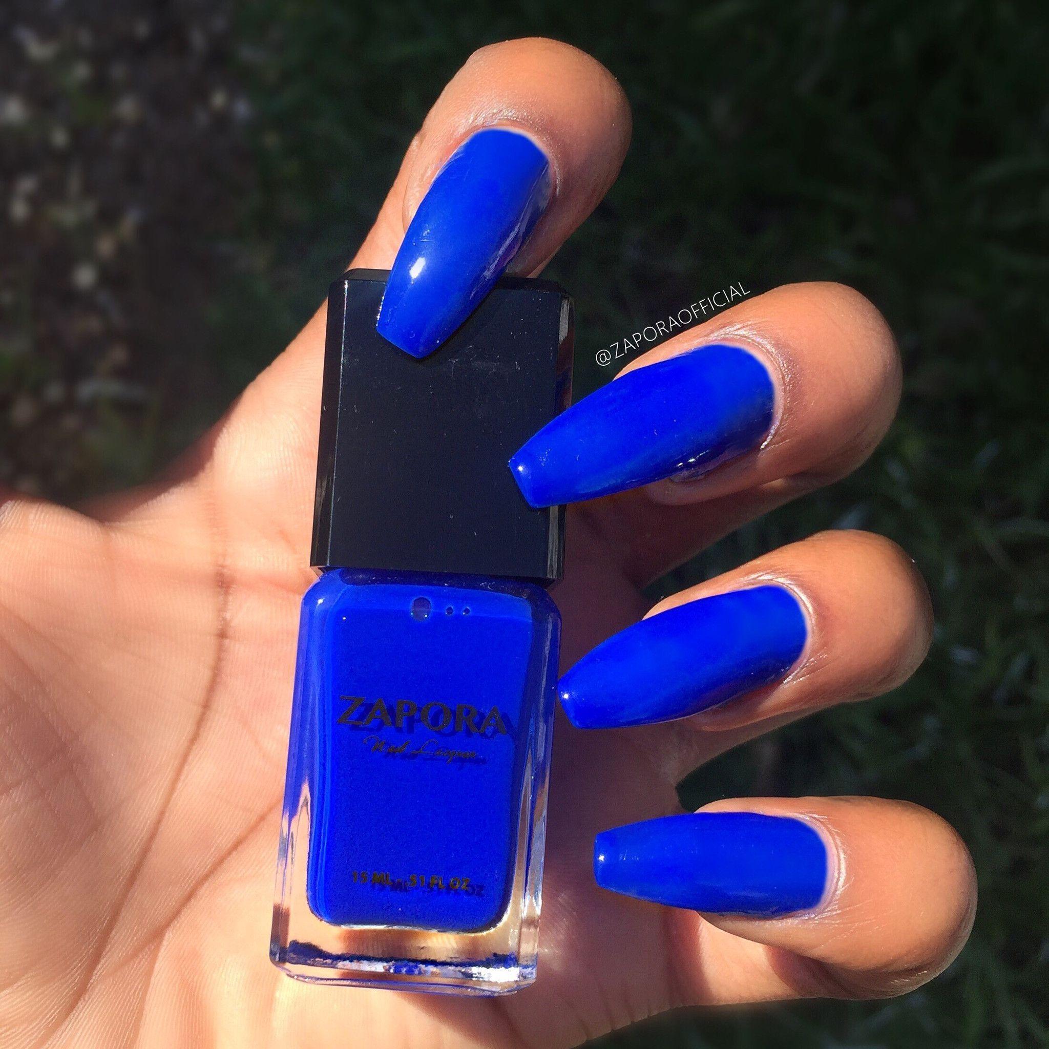 BLUE STORY – ZAPORA Nail Lacquer | Nails | Pinterest | Nail nail ...