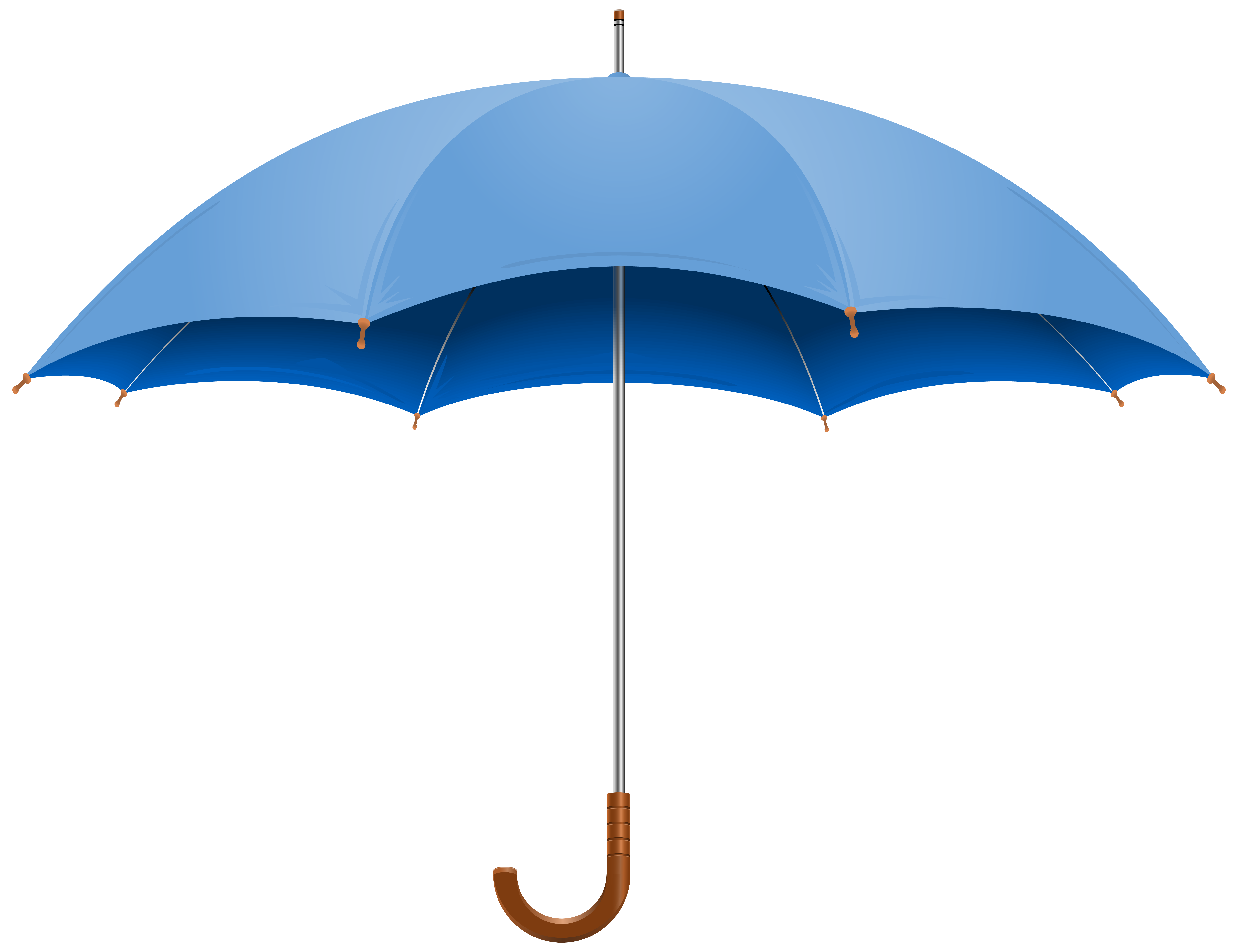Blue Open Umbrella PNG Clipart Image | Gallery Yopriceville - High ...