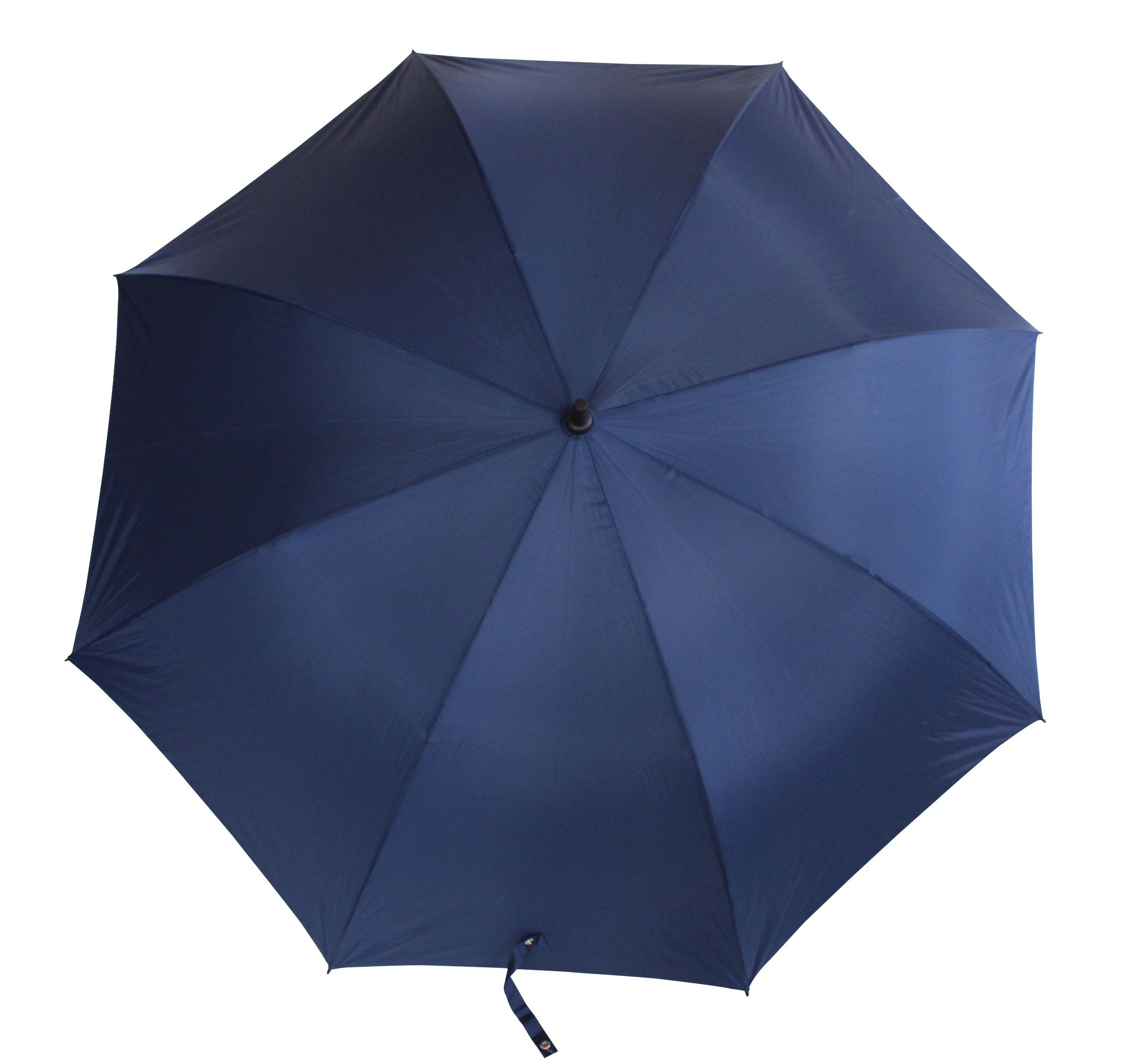 Golf Auto Open Blue Umbrella - UV Protected