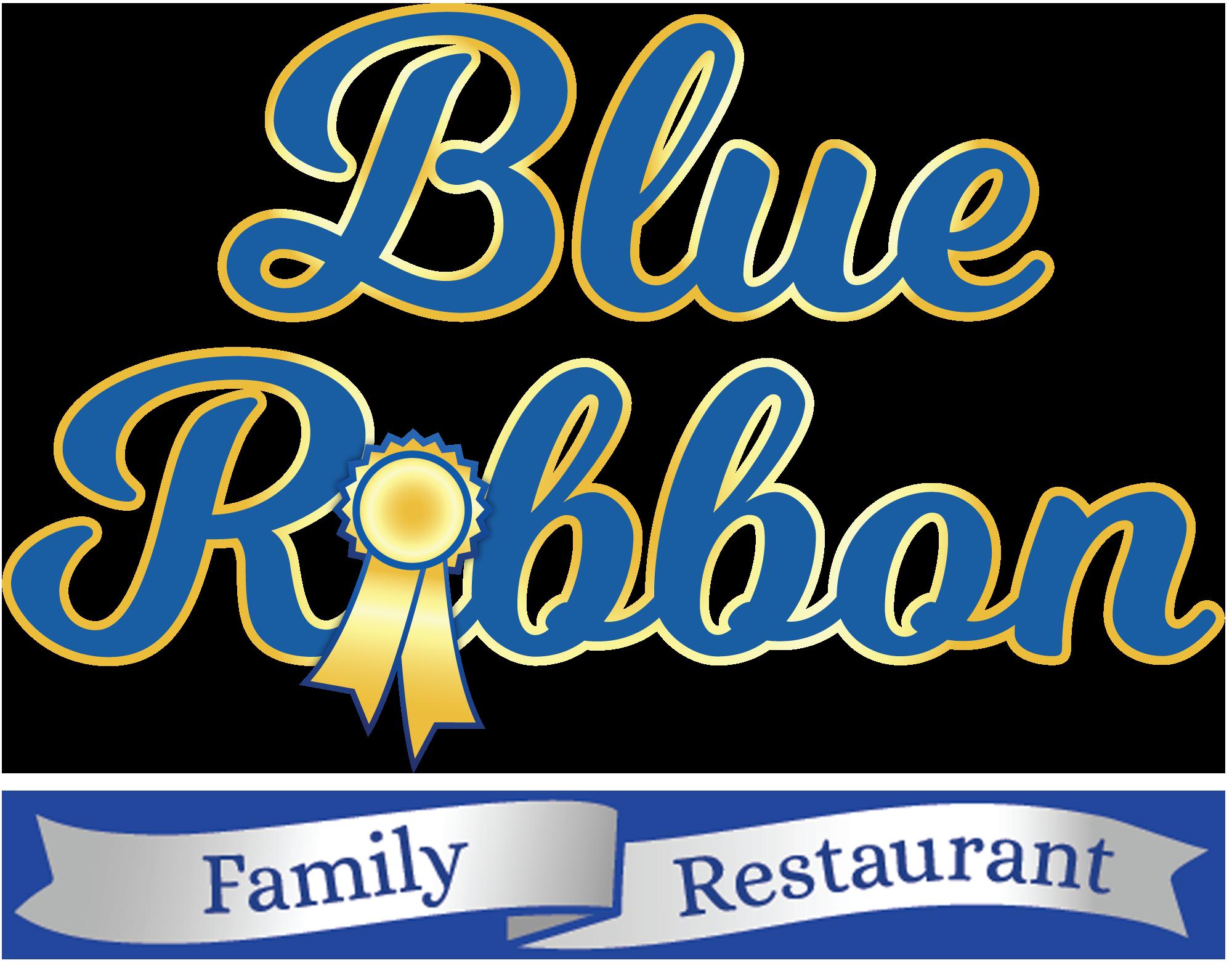 Blue ribbon photo