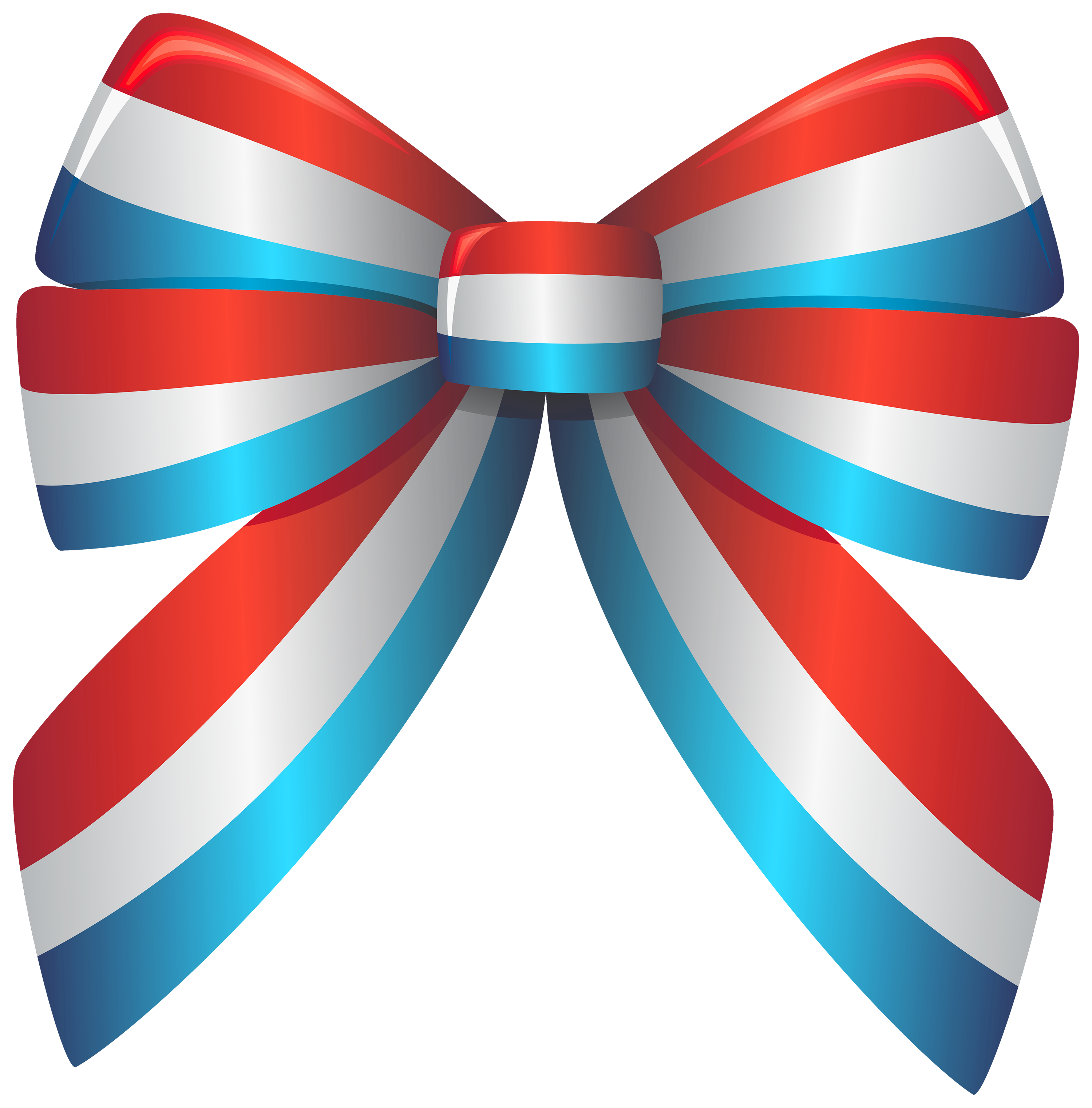 Red White and Blue Ribbon PNG Clipart - Best WEB Clipart
