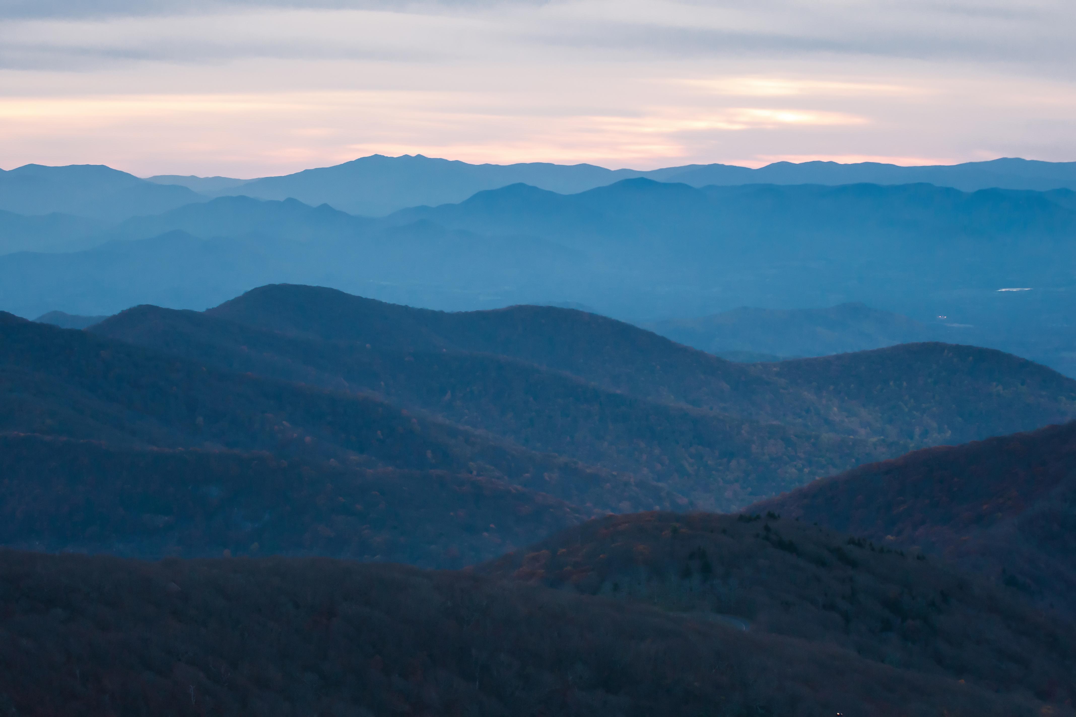 Blue ridge mountains, And, Ignorance, Nature, Mountains, HQ Photo